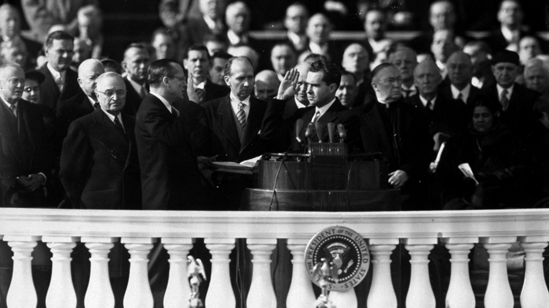 Dwight D Eisenhower inauguration 1953