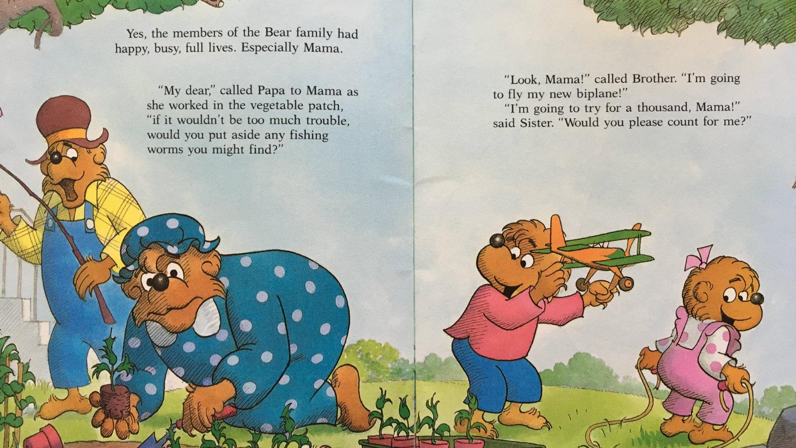 The Berenstain Bears: Mama's New Job/Mighty Milton