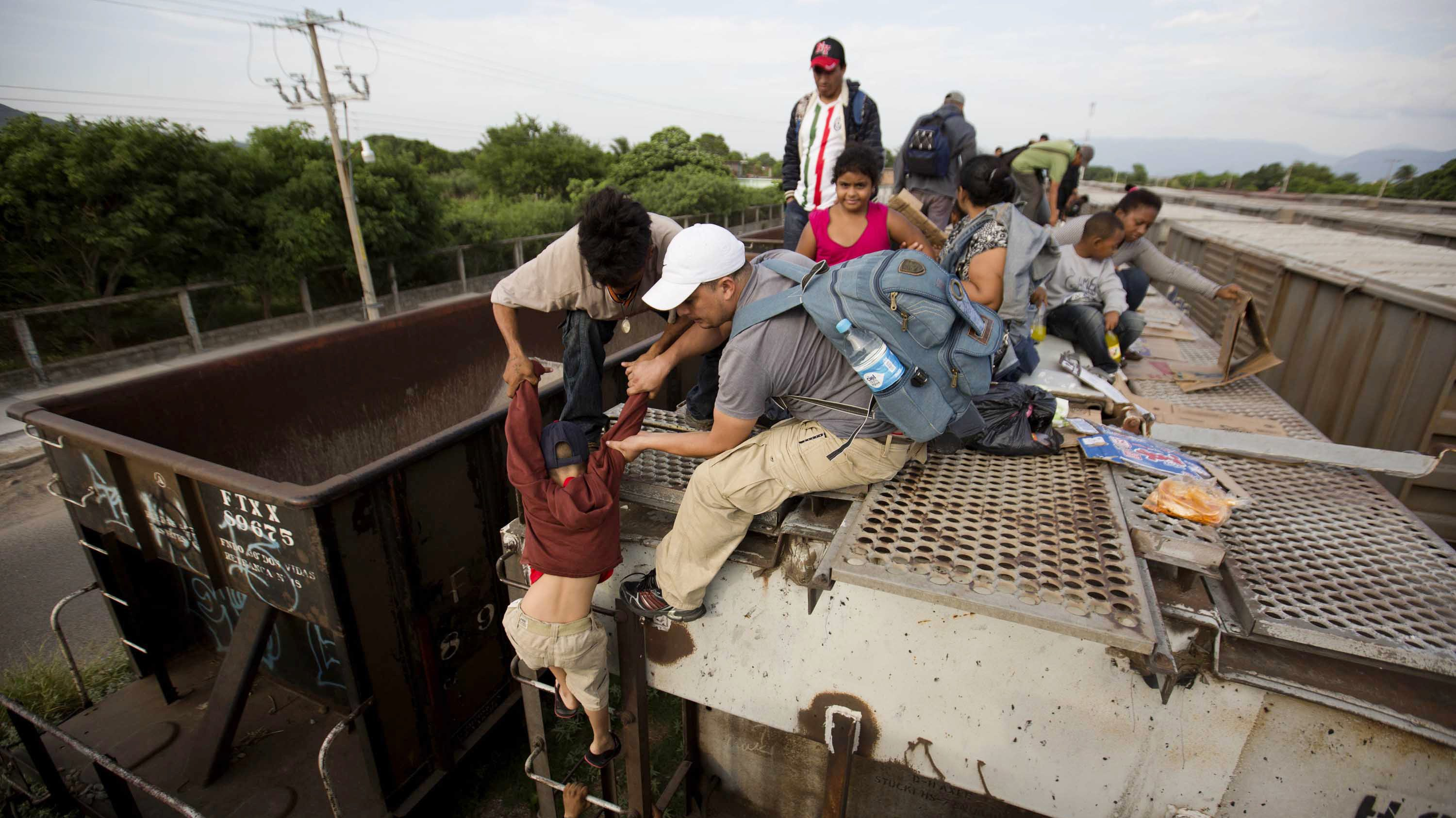 The number of Central American immigrant children to the US is growing