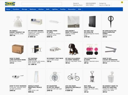 How Ikea Names Its Products The