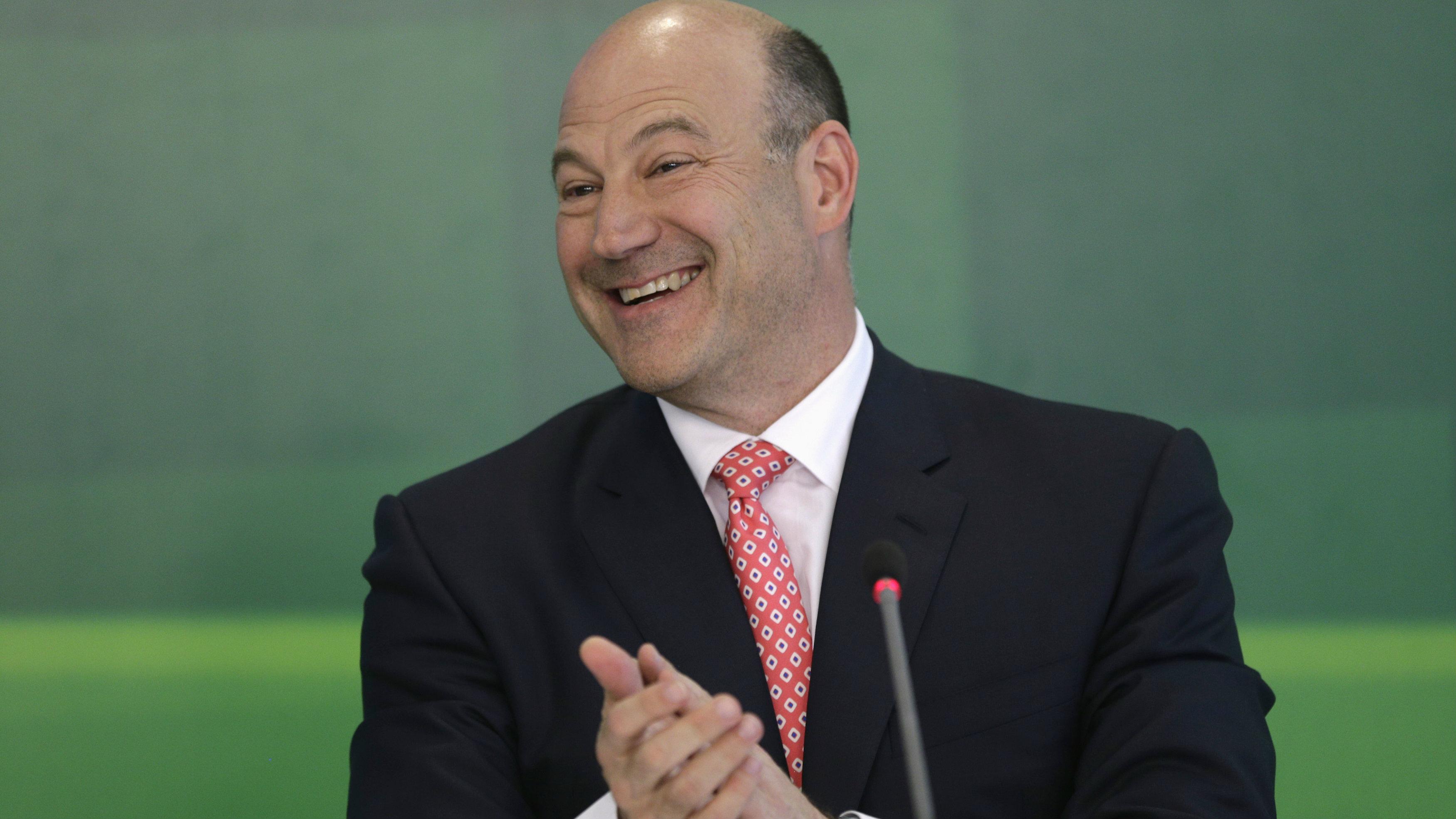 Former Goldman Sachs president Gary Cohn