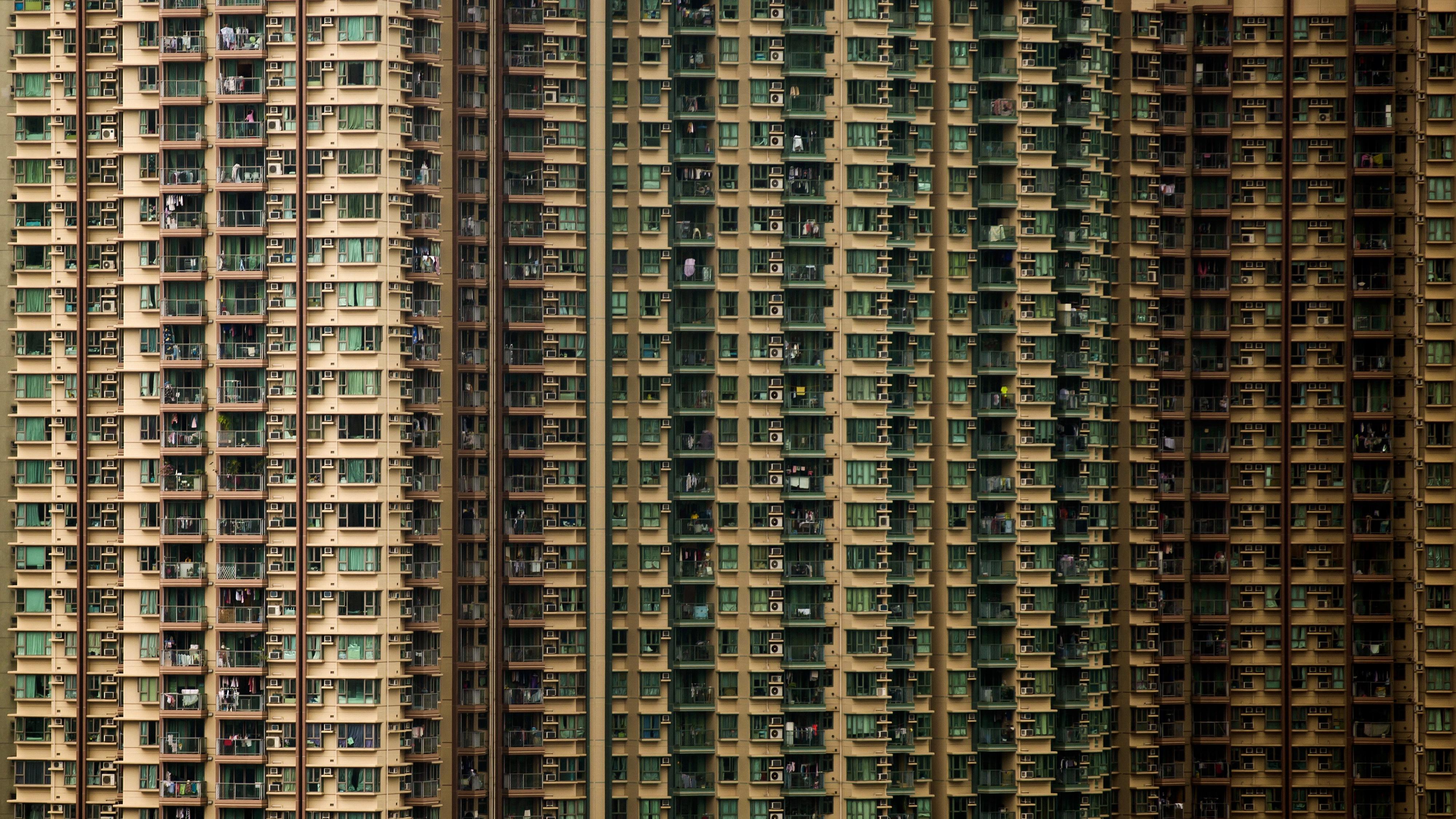 Elegant Housing In Hong Kong.