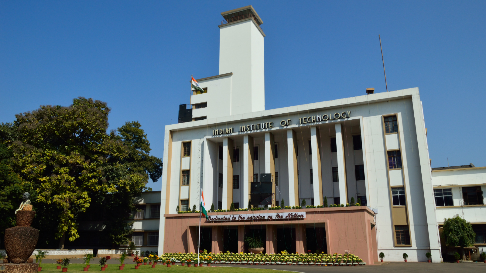 Indian Institute of Technology Kharagpur main building.