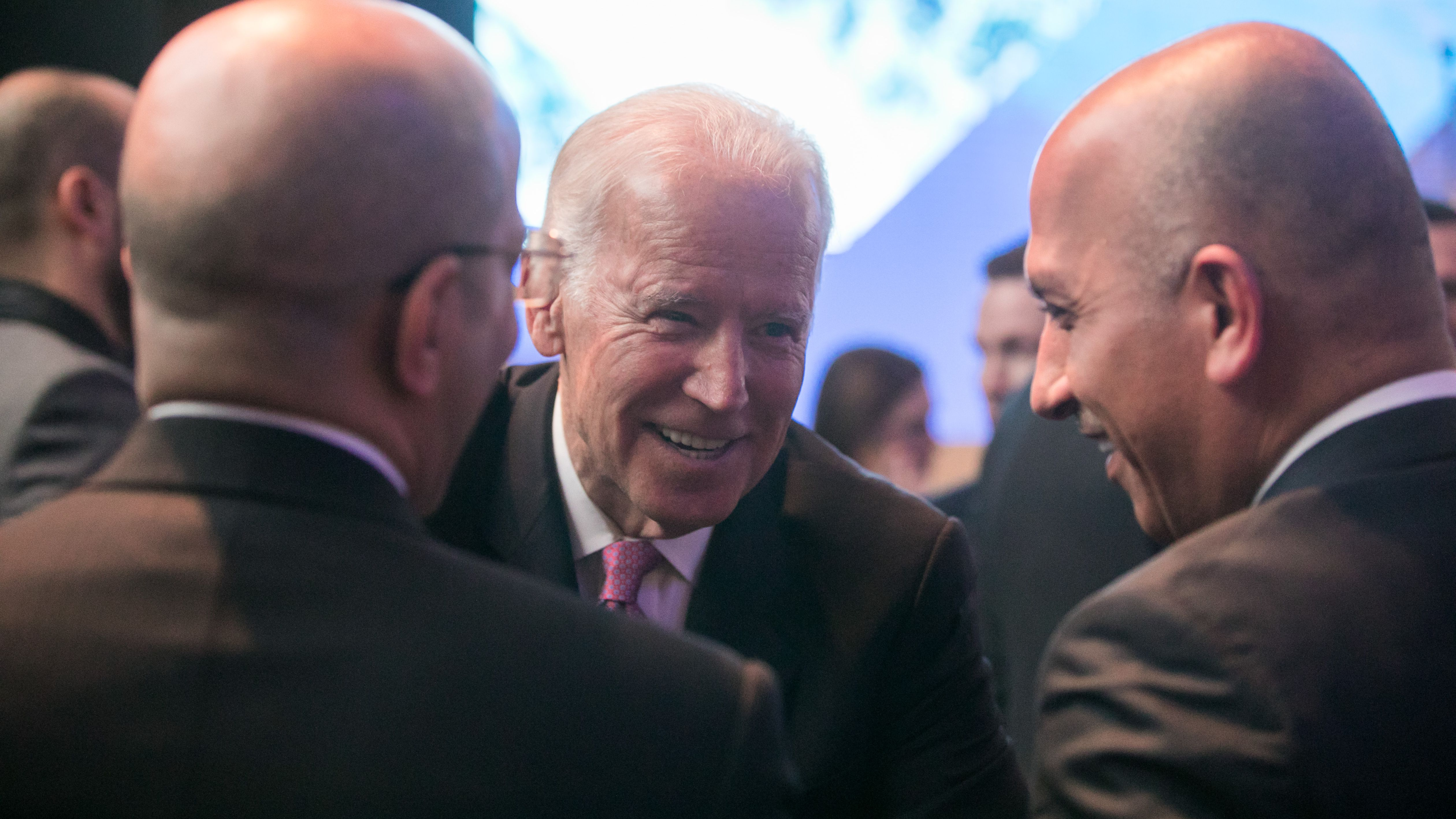 Joe Biden, Vice President of the United States at the Annual Meeting 2017 of the World Economic Forum in Davos, January 17, 2017. Copyright by World Economic Forum / Ciaran McCrickard, 2017.