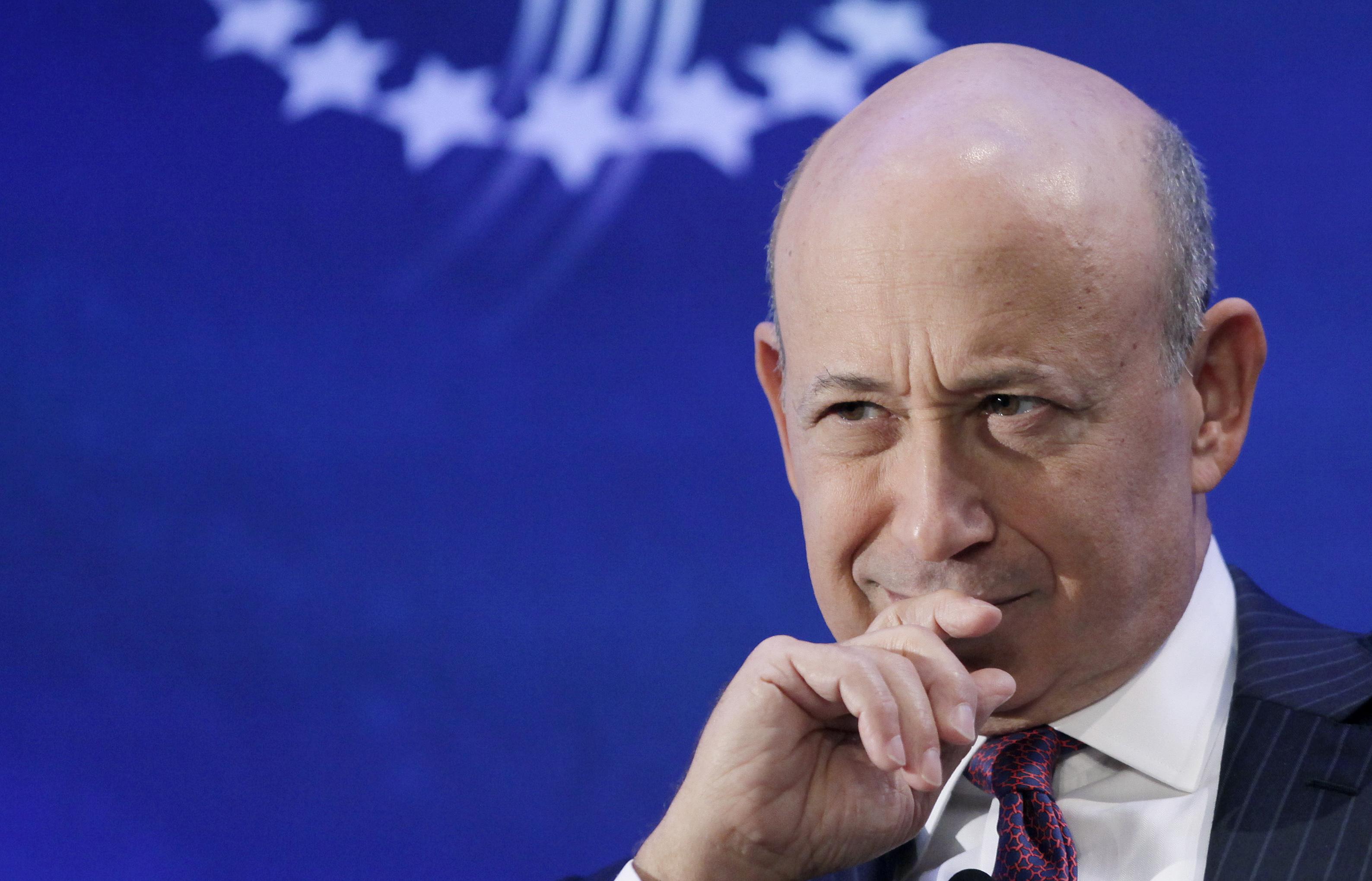 Lloyd Blankfein-GoldmanSachs-Trump-