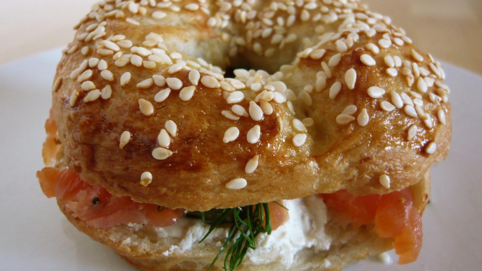 lox on bagel