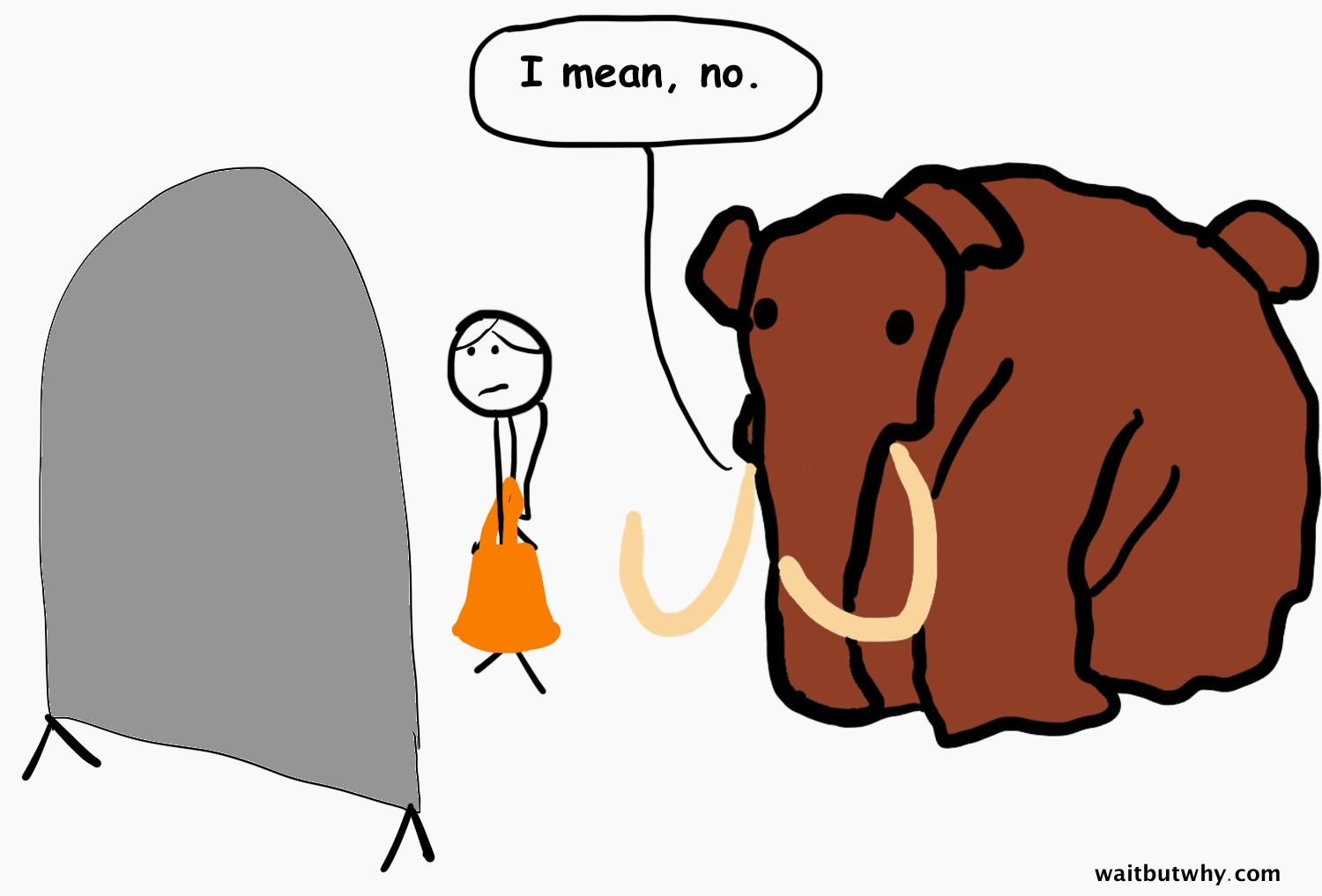 mammoth insulting dress
