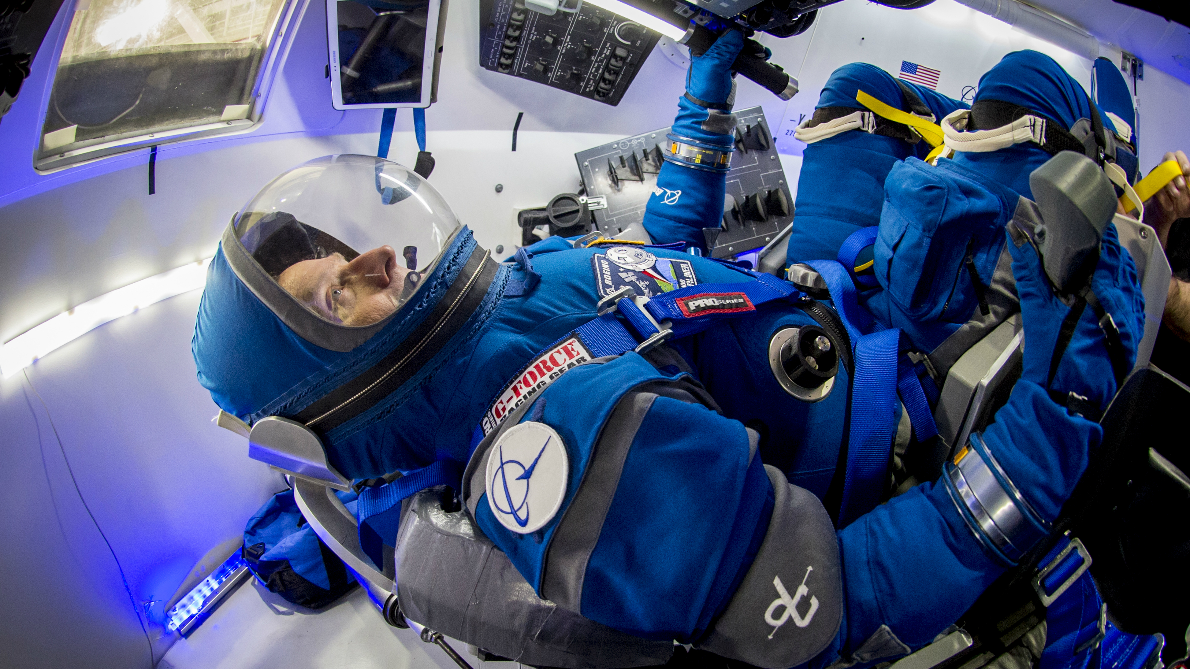Astronauts will soon wear these new lightweight spacesuits—Reebok boots  included b16bdd3cc