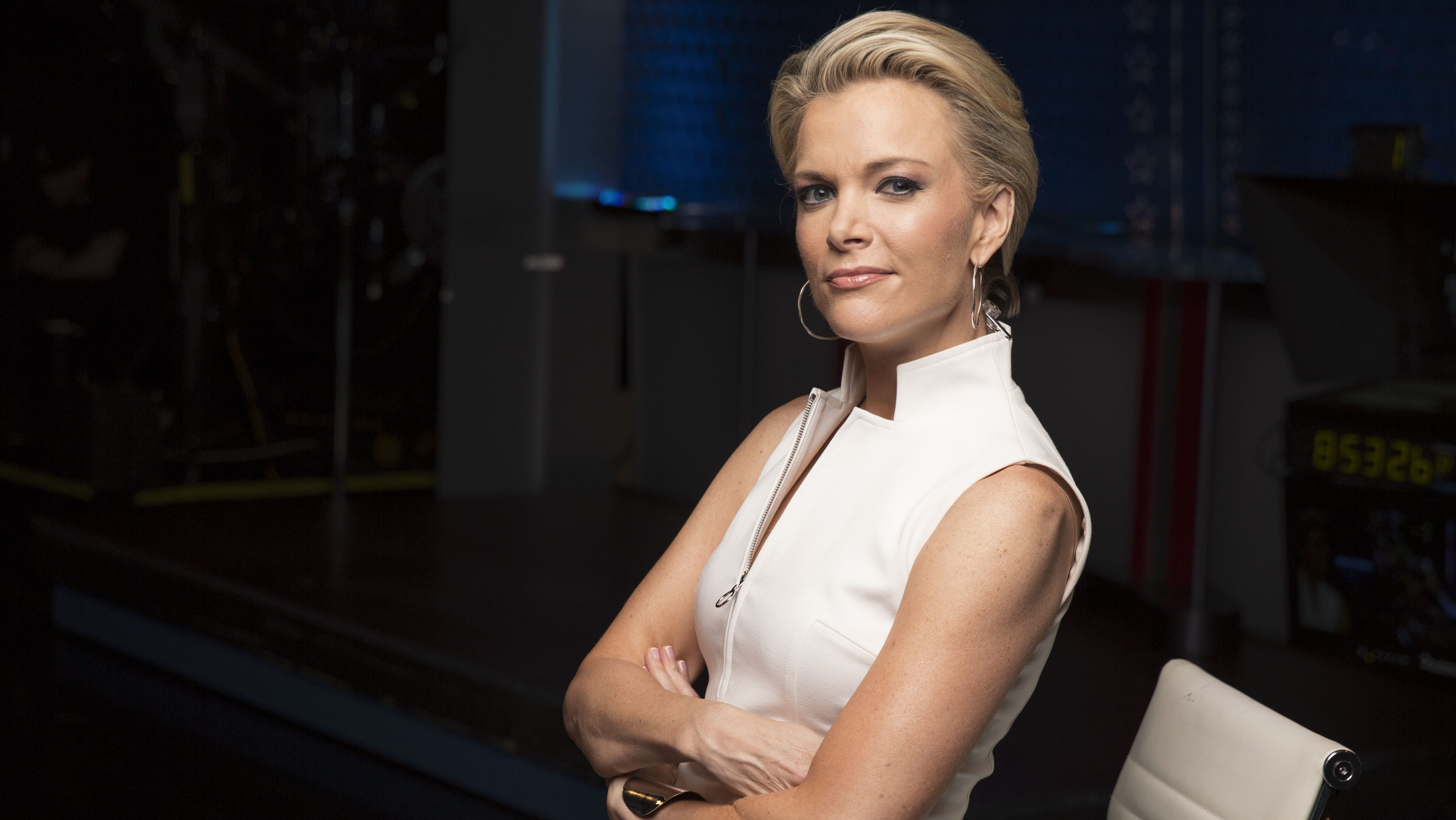 "In this May 5, 2016 file photo, Megyn Kelly poses for a portrait in New York. Kelly is calling on President-elect Donald Trump's social media director to stop encouraging hostile elements among some of his supporters. London-based newspaper, The Guardian, reports that the Fox News anchor told an audience at a speaking event in Washington Monday, Dec. 5, 2016, that there's a small group of Trump supporters ""that really enjoys nastiness and threats."" She said Dan Scavino's job during the campaign was ""to stir these people up and that man needs to stop doing that."""