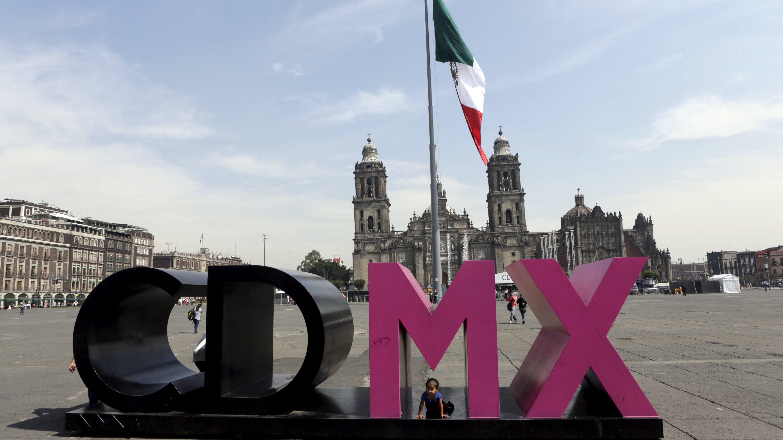 Zocalo Square in Mexico City, Mexico