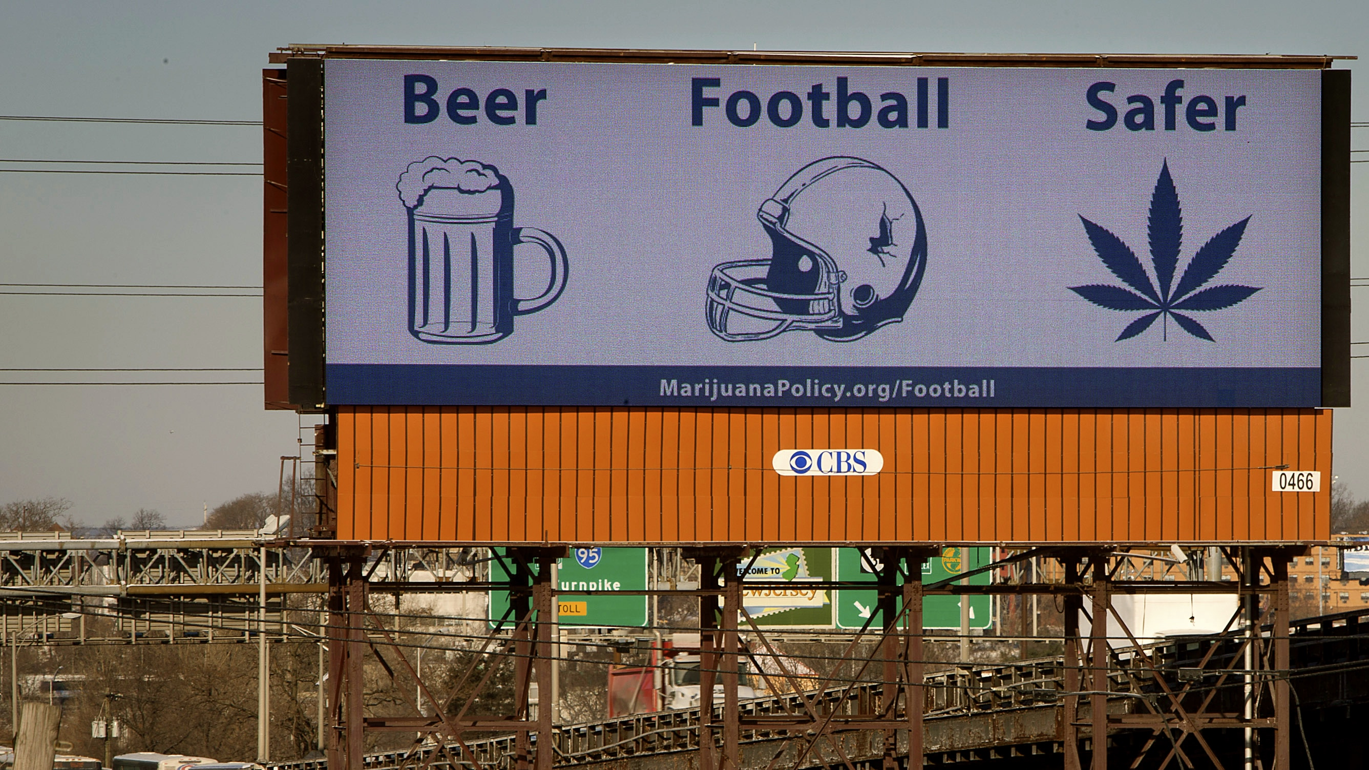 Beer, football, and weed.