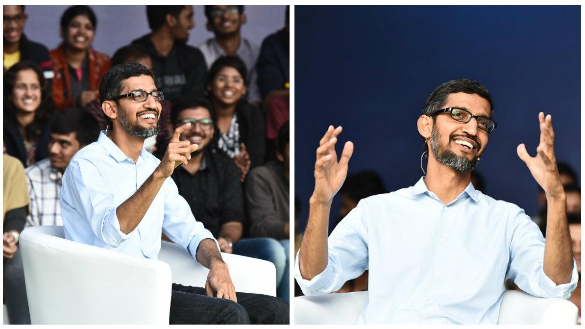 Google CEO Sundar Pichai at IIT Kharagpur