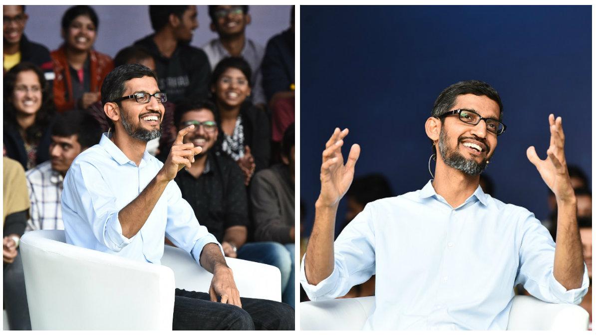 Google CEO Sundar Pichai at IIT Kharagpur