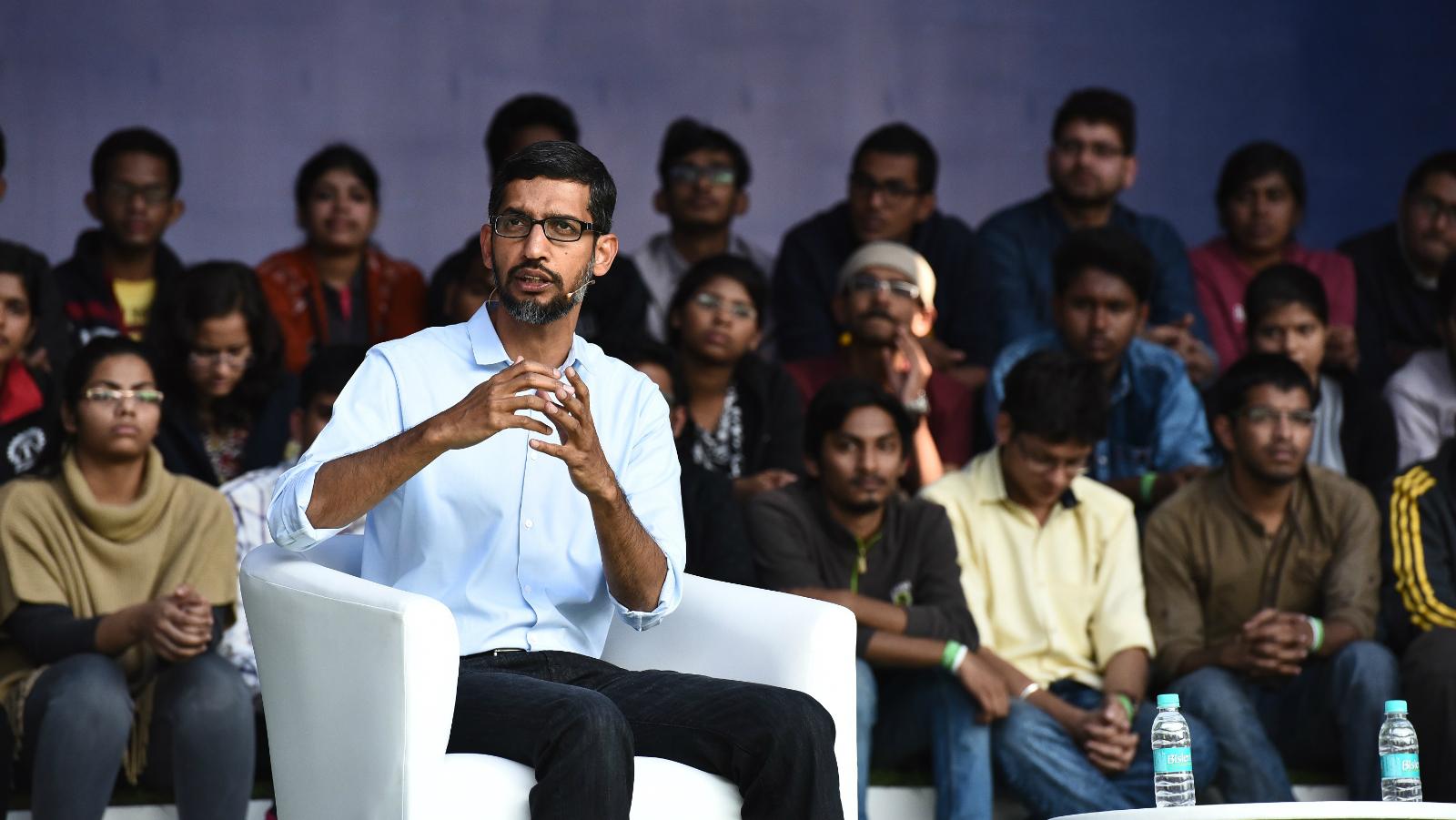 Sundar Pichai Google IIT Kharagpur