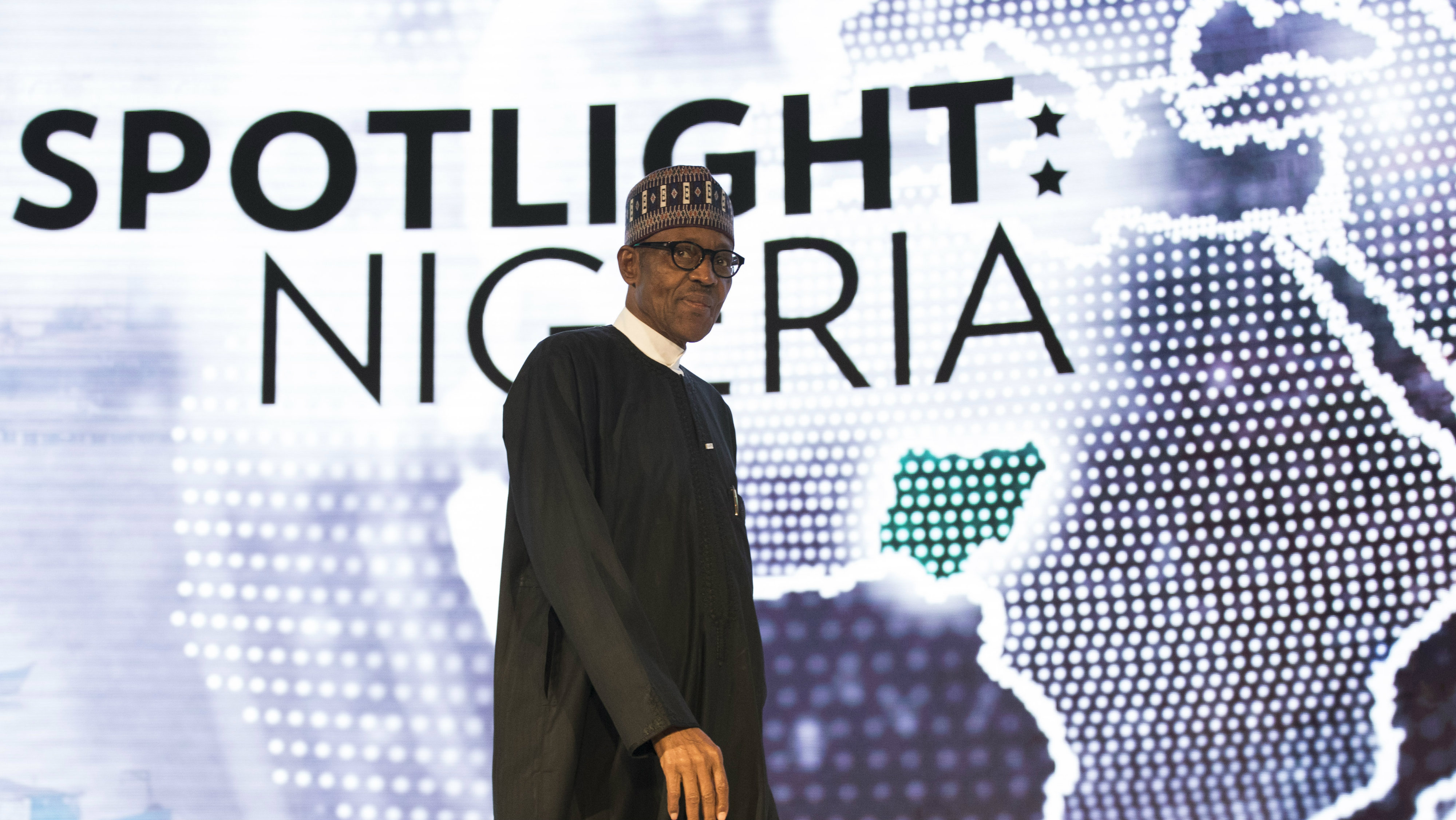 President of Nigeria Muhammadu Buhari arrives to speak at the U.S.-Africa Business Forum at the Plaza Hotel, September 21, 2016 in New York City. The forum is focused on trade and investment opportunities on the African continent for African heads of government and American business leaders.