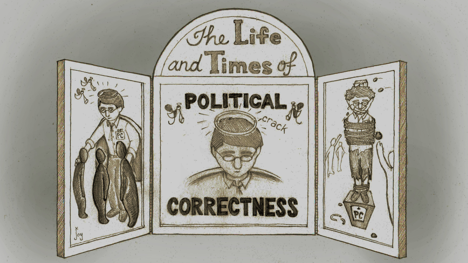 political correctness illustration