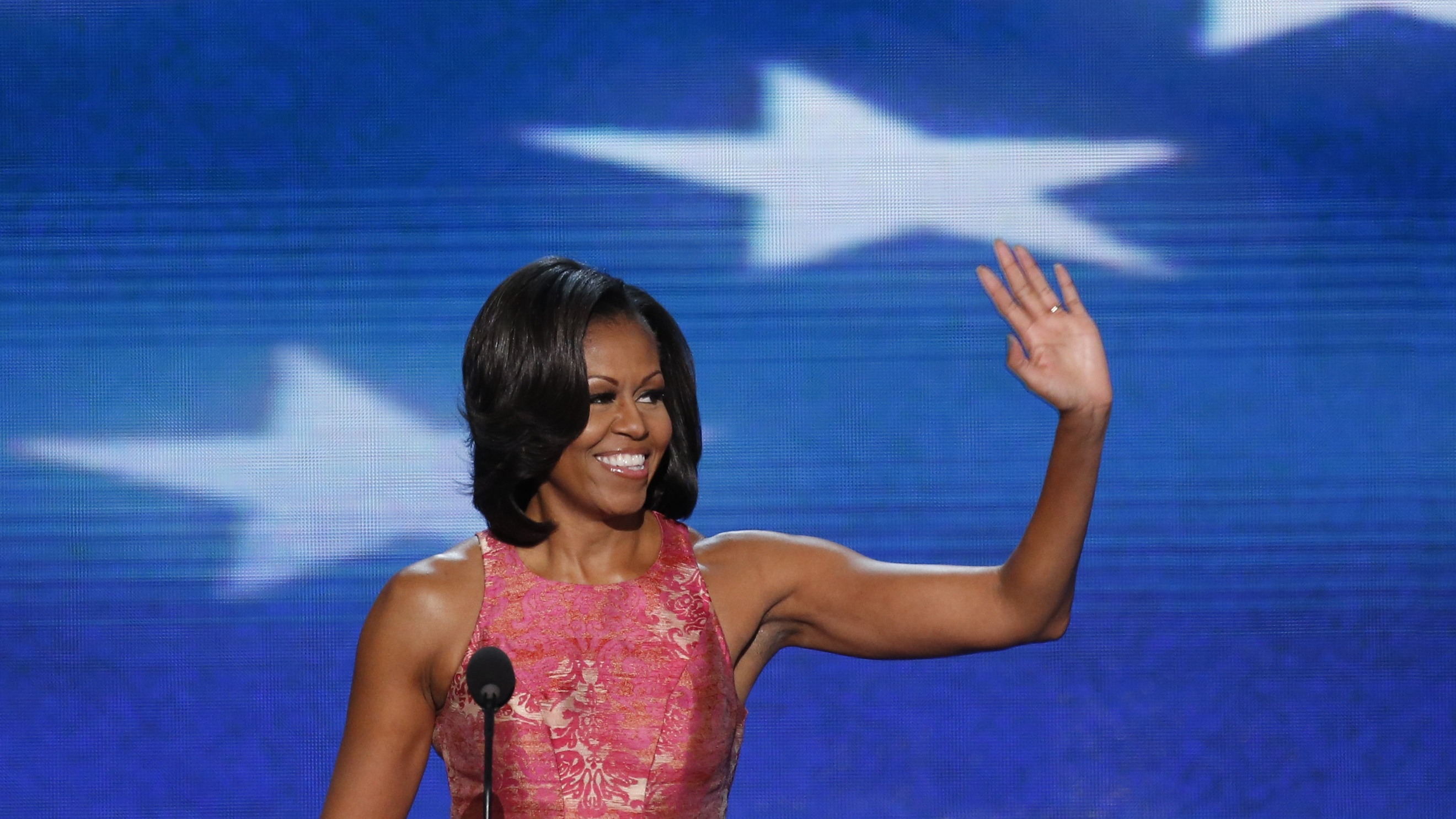 231ee960e66 The inspiring story that Michelle Obama told about American fashion