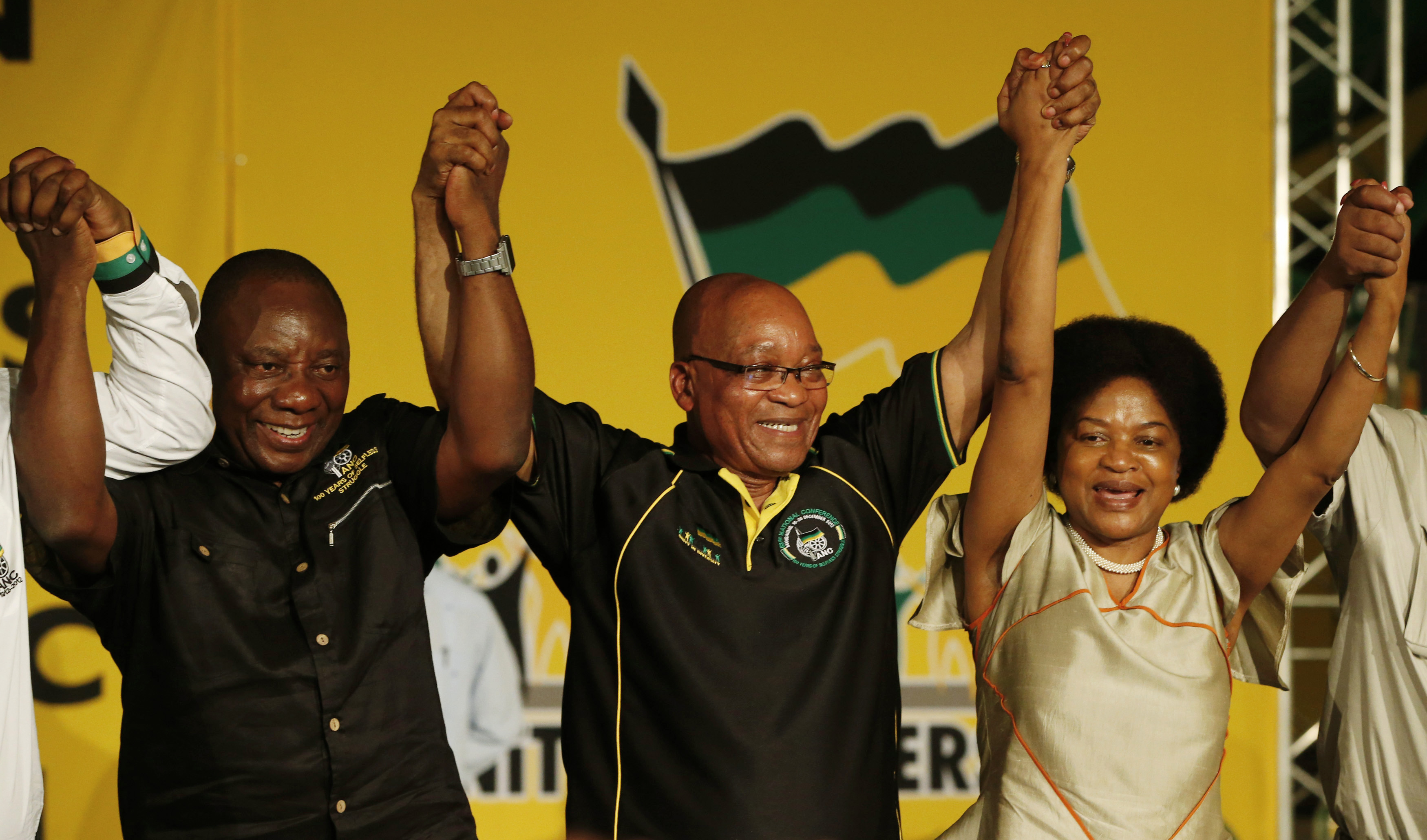 Nkosazana Dlamini-Zuma and Baleka Mbete emerge as possible candidates for South Africa's first woman president