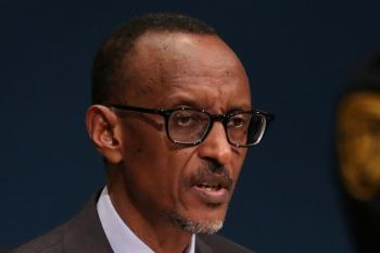Rwanda's President Paul Kagame addresses the 71st United Nations General Assembly in the Manhattan borough of New York, U.S., September 22, 2016.