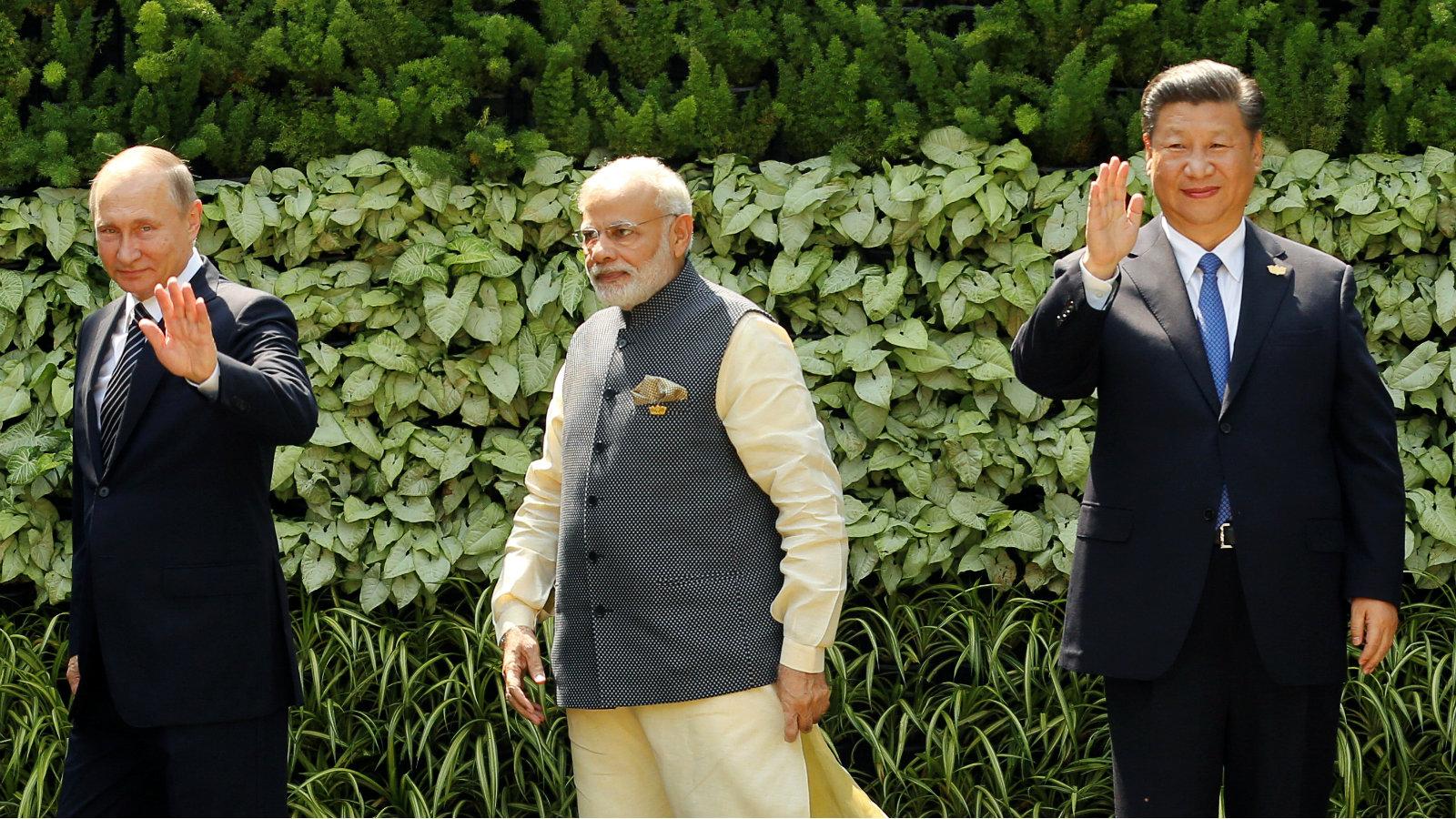 India-South Asia-Russia-China