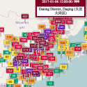 China opens its new year with heavy pollutions all over the country, some places of which has seen an air quality index that's beyond measure.