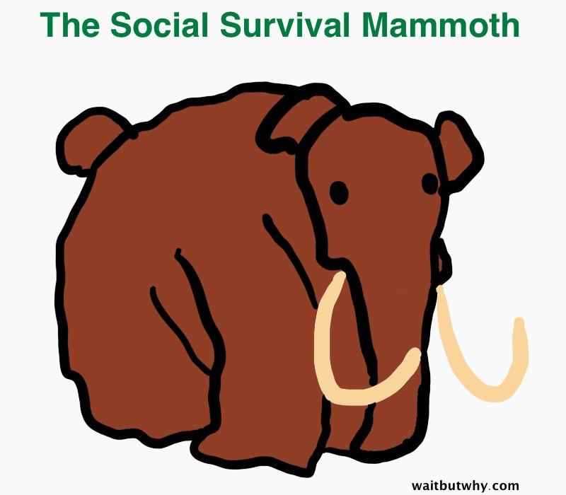 social survival mammoth