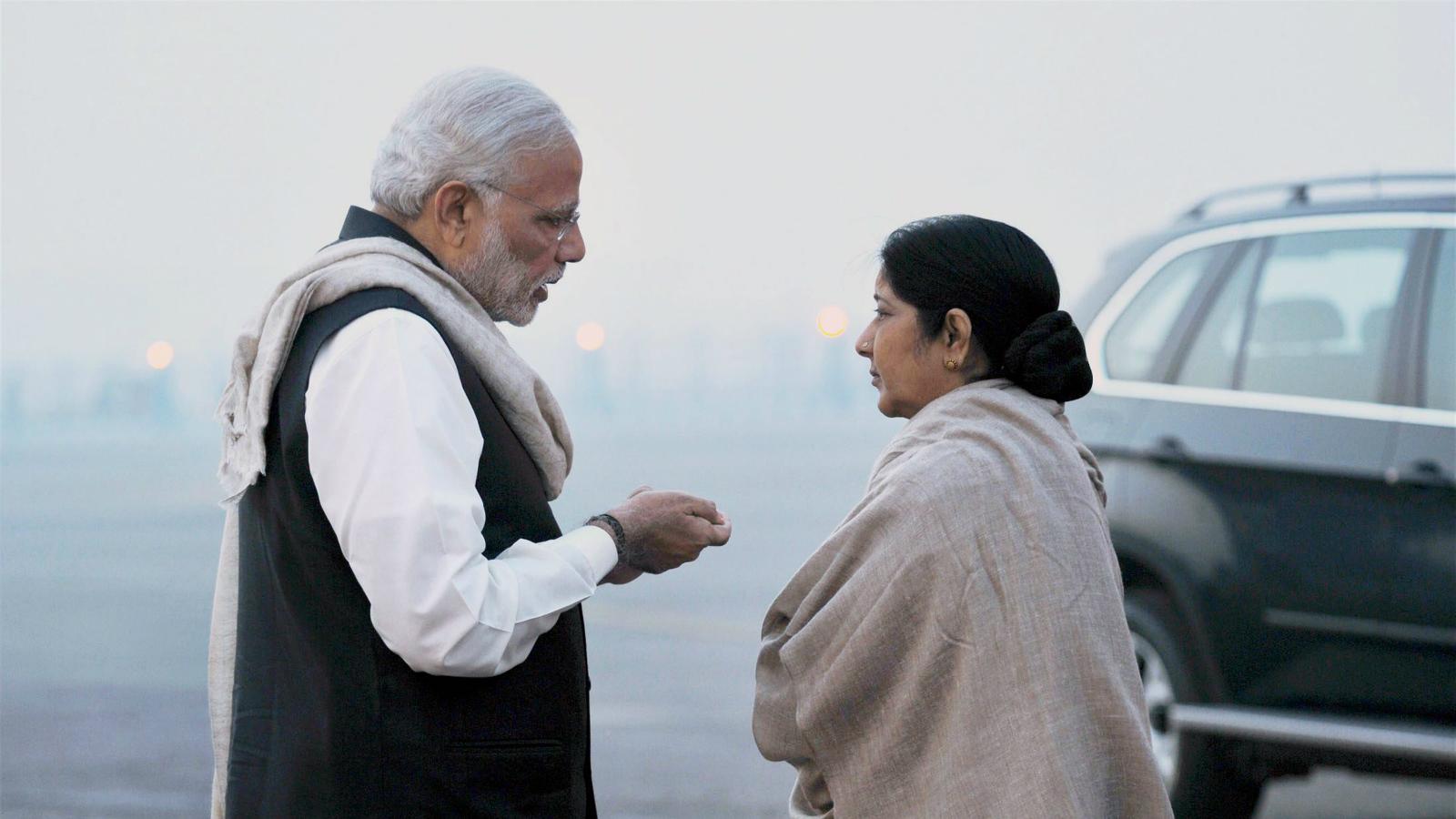 Sushma Swaraj Amazon Modi India
