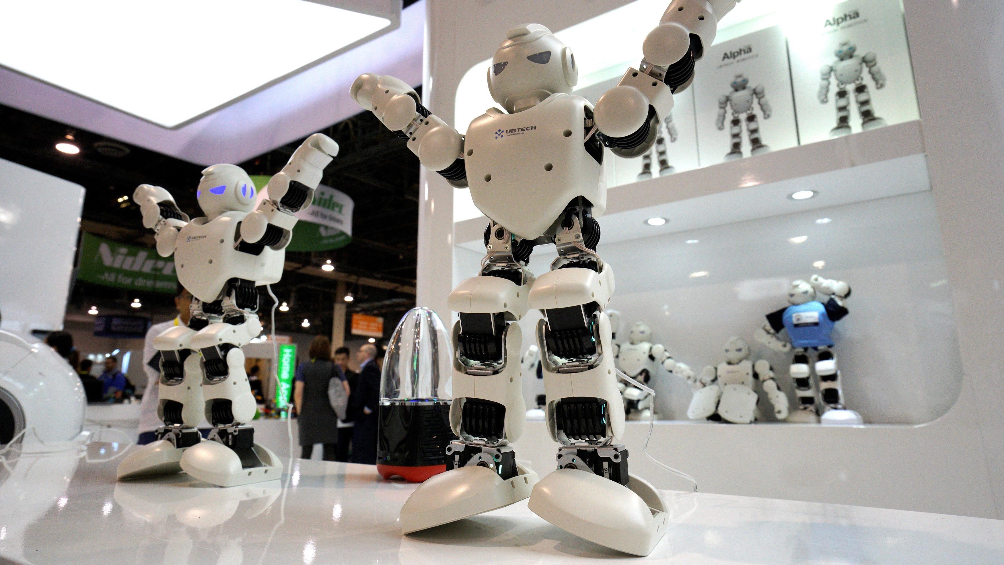 Bots at CES.