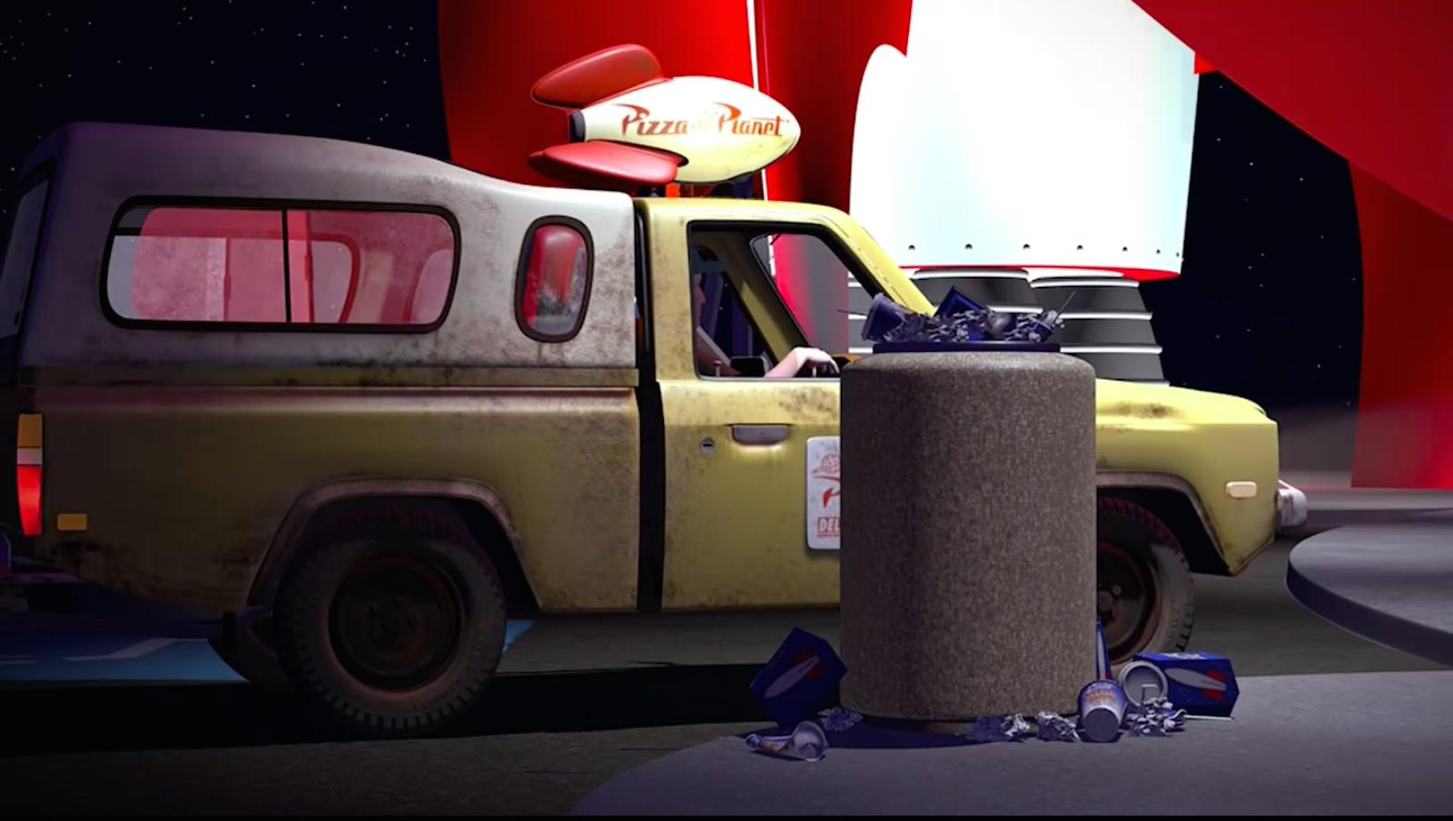 Screenshot of Disney video.