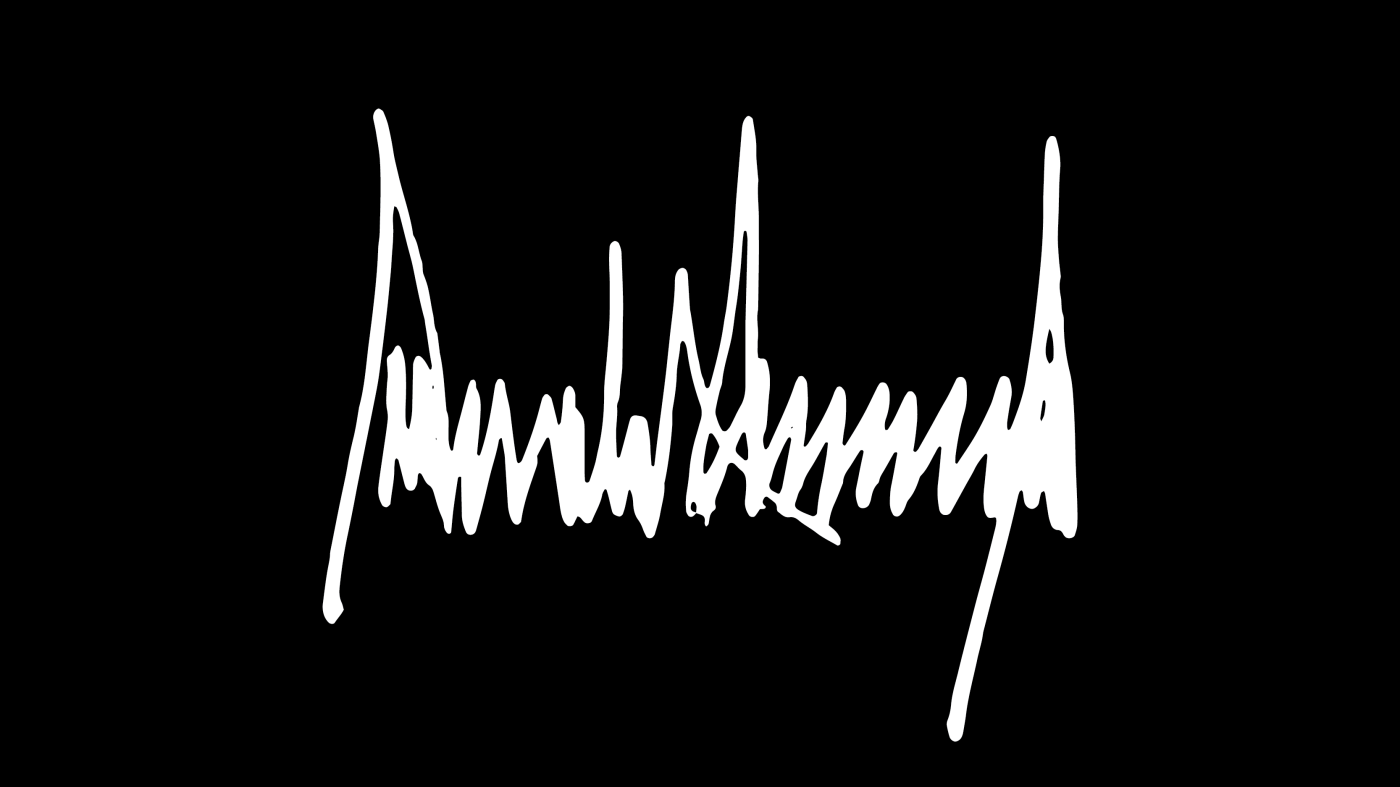 donald trump official signature trump takes a tediously long time to sign his name quartz