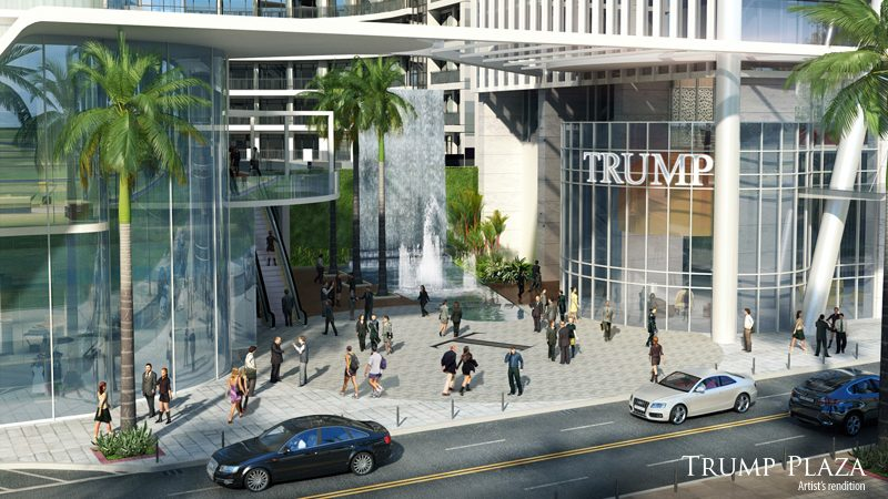 trump tower manila artist rendition