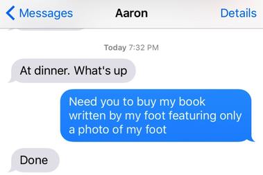 aaron messaging