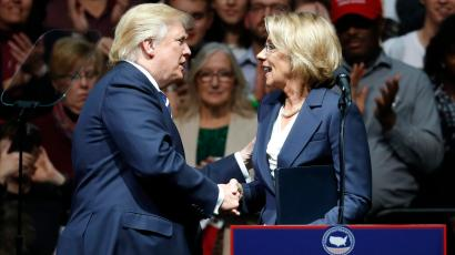 Betsy Devos Trumps Education Pick Has >> Betsy Devos Trump S Pick Could Be The First Nominee For Us
