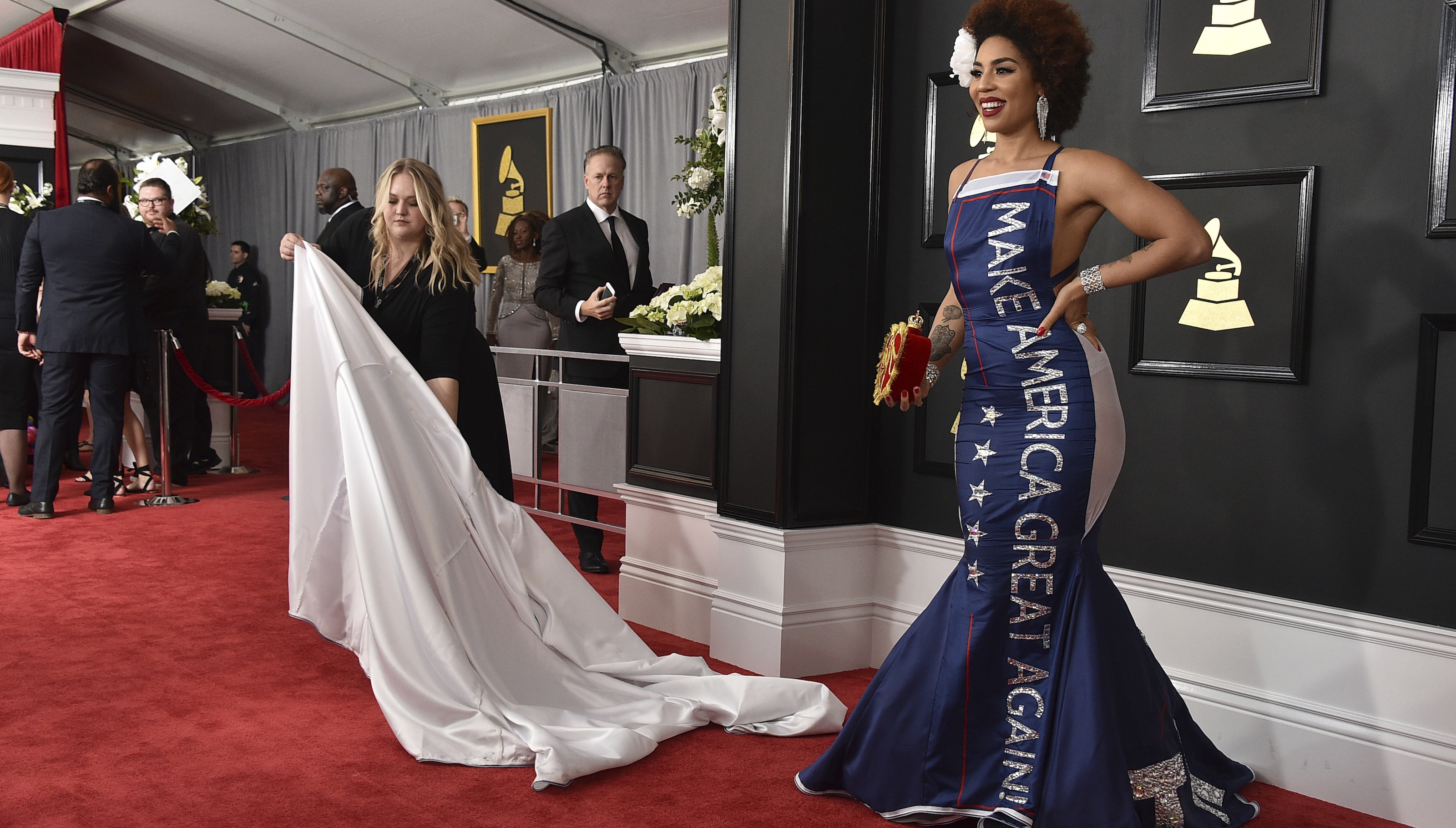 online store dcdef 9c4a0 Singer Joy Villa s sales rocket as Trump supporters get a new nobody to  fawn over