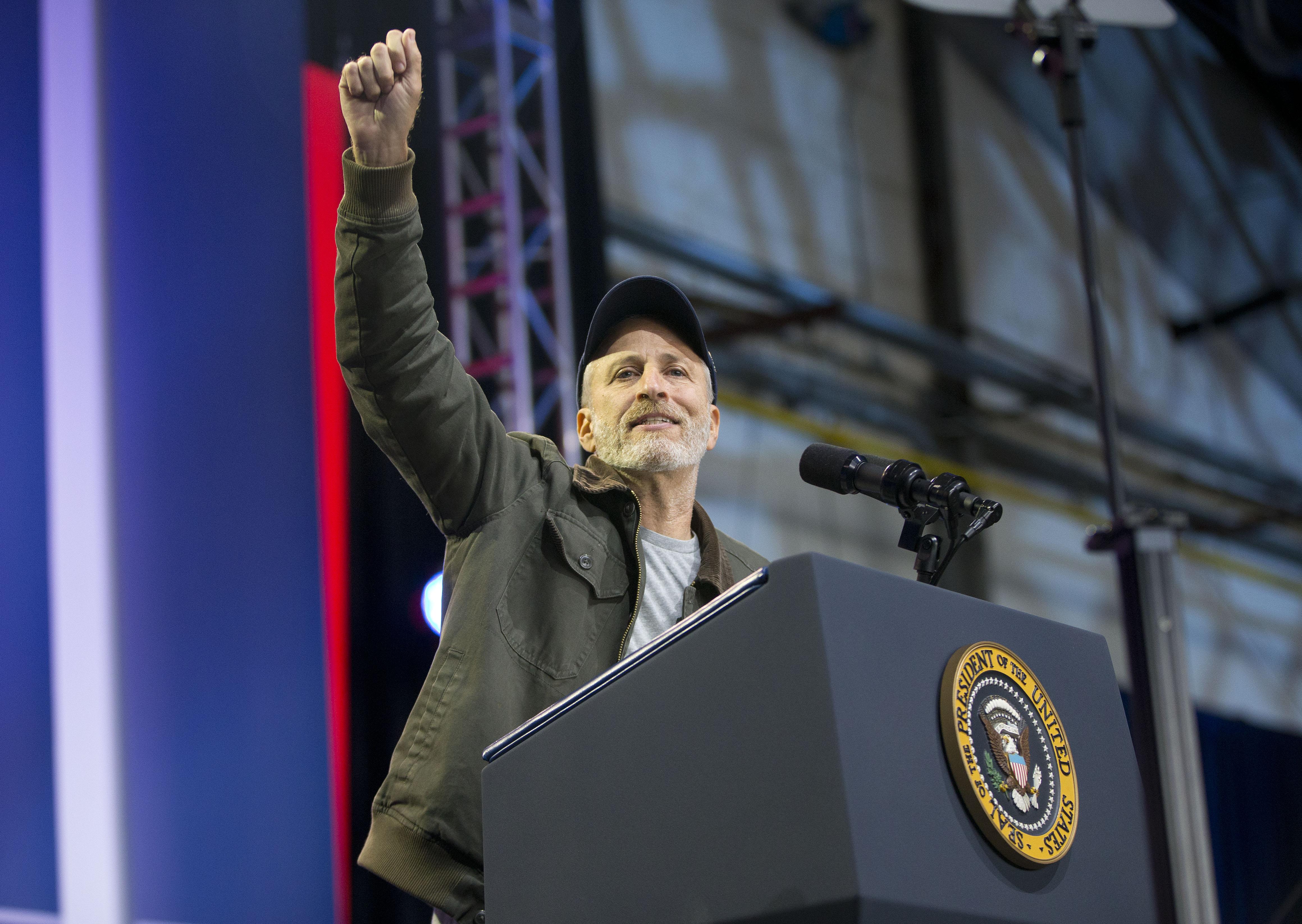 Jon Stewart offers advice to the media