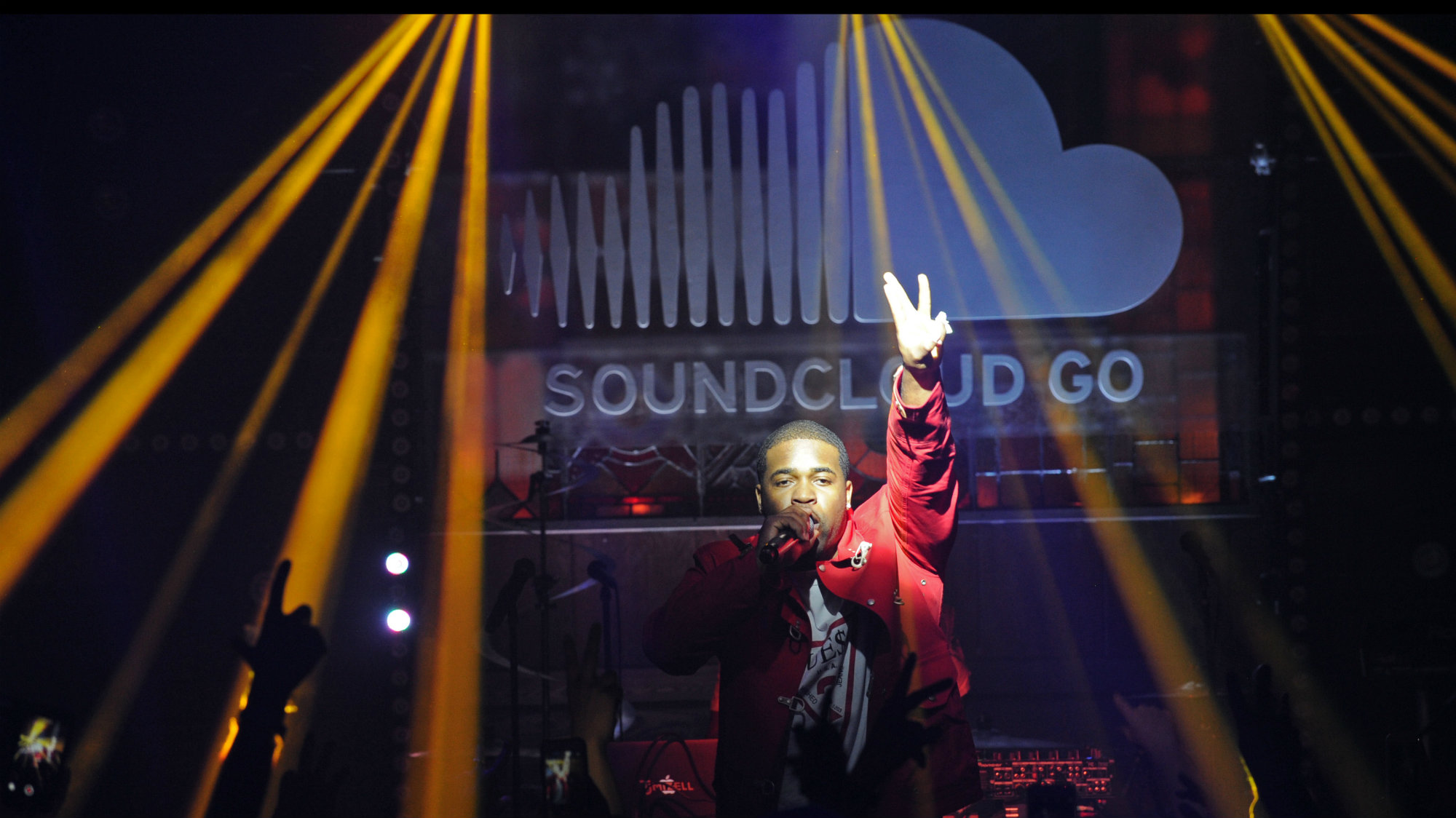 ASAP Ferg performs at the #SoundCloudGo launch experience at Flash Factory, Thursday, March 31, 2016, in New York.