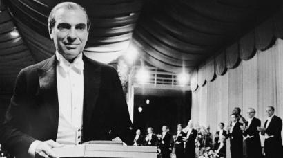 Kenneth Arrow receiving the Nobel Prize in 1972