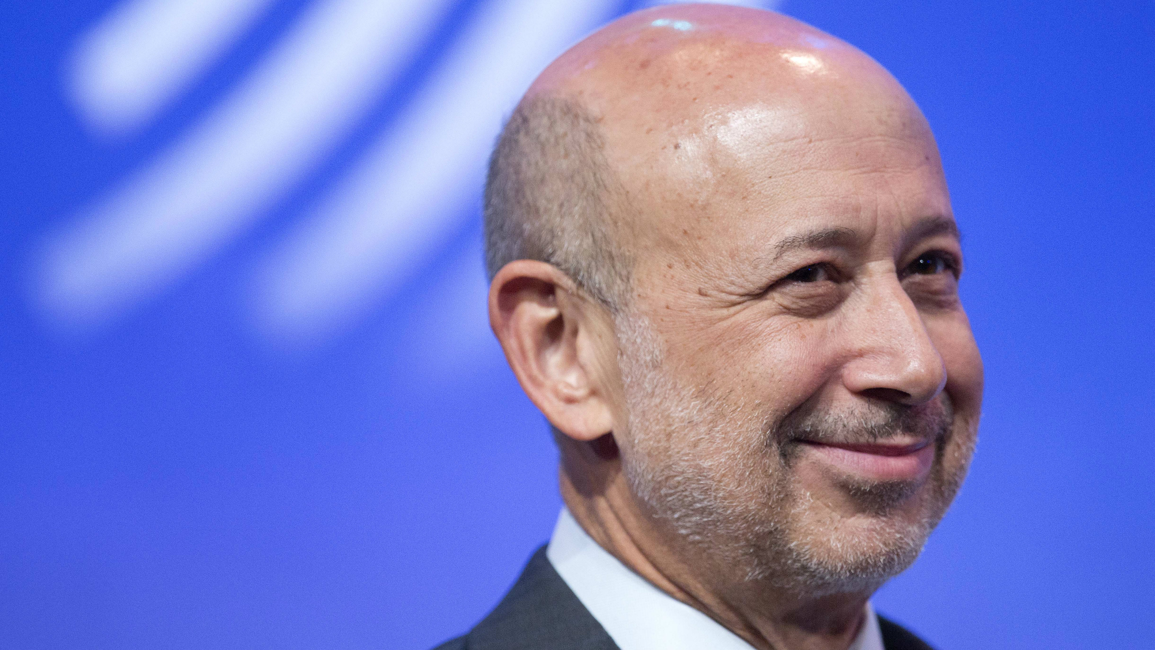 """Clinton Global Initiative Download Comp CLINTON GLOBAL INITIATIVE  Overview Download now   Lloyd Blankfein, Chairman and CEO of Goldman Sachs, speaks in a panel discussion, """"Equality for Girls and Women: 2034 Instead of 2134?"""" at the Clinton Global Initiative, Wednesday, Sept. 24, 2014 in New York. (AP Photo/Mark Lennihan)"""