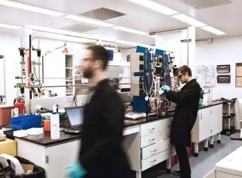 Modern Meadow's cell engineering lab
