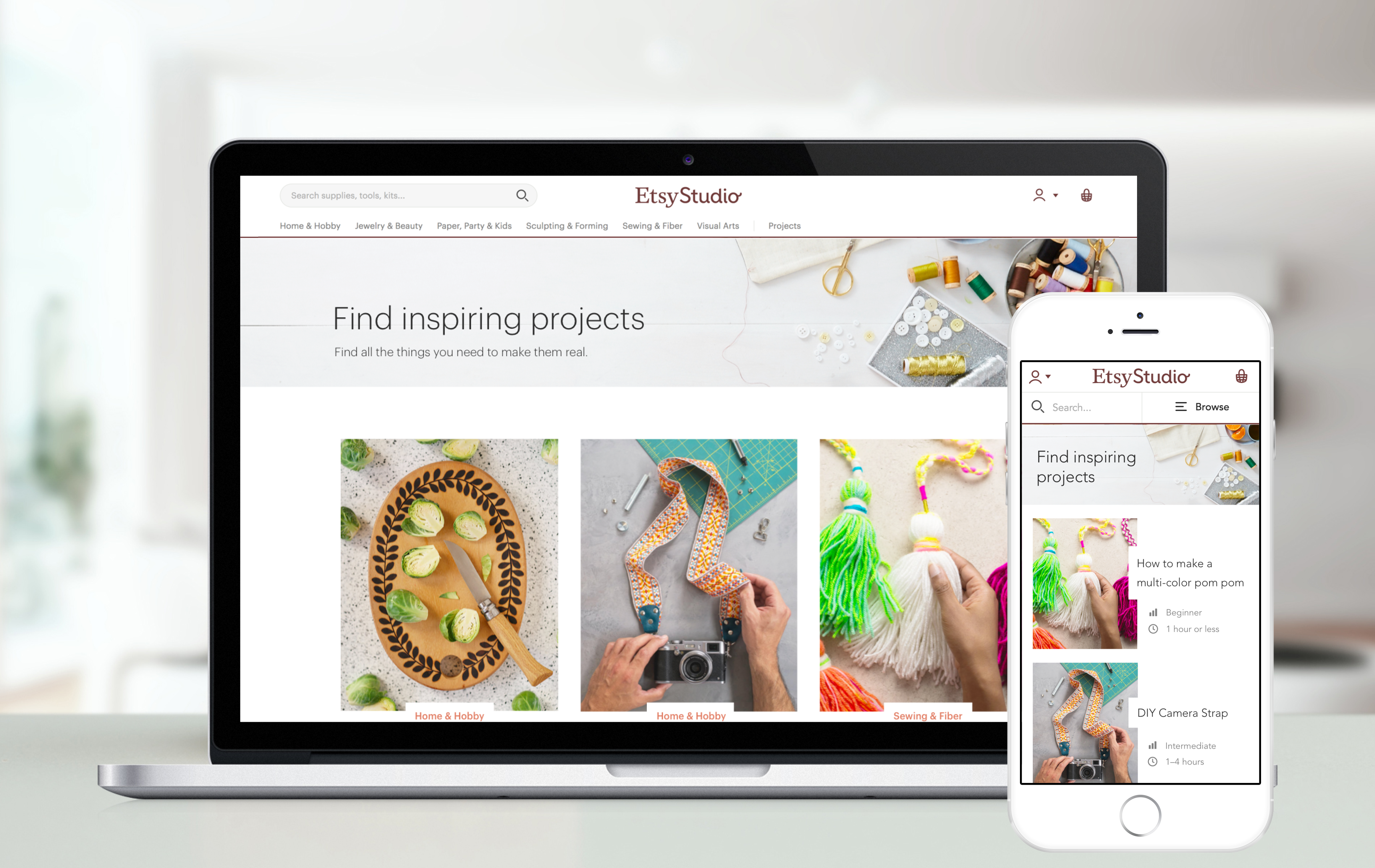 Etsy Studio will sell craft supplies and include craft tutorials