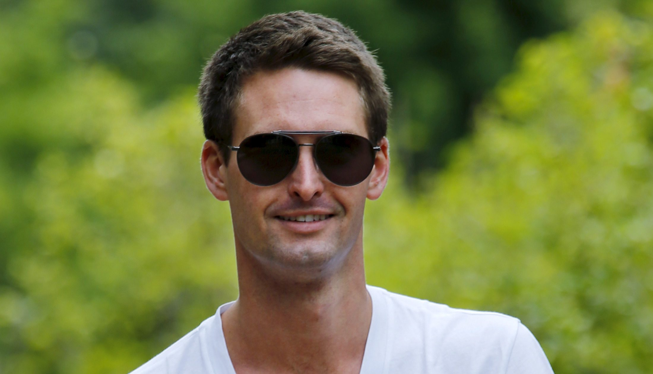 Snapchat CEO Evan Spiegel attends the first day of the annual Allen and Co. media conference in Sun Valley, Idaho, July 8, 2015. REUTERS/Mike Blake - RTX1JMJQ