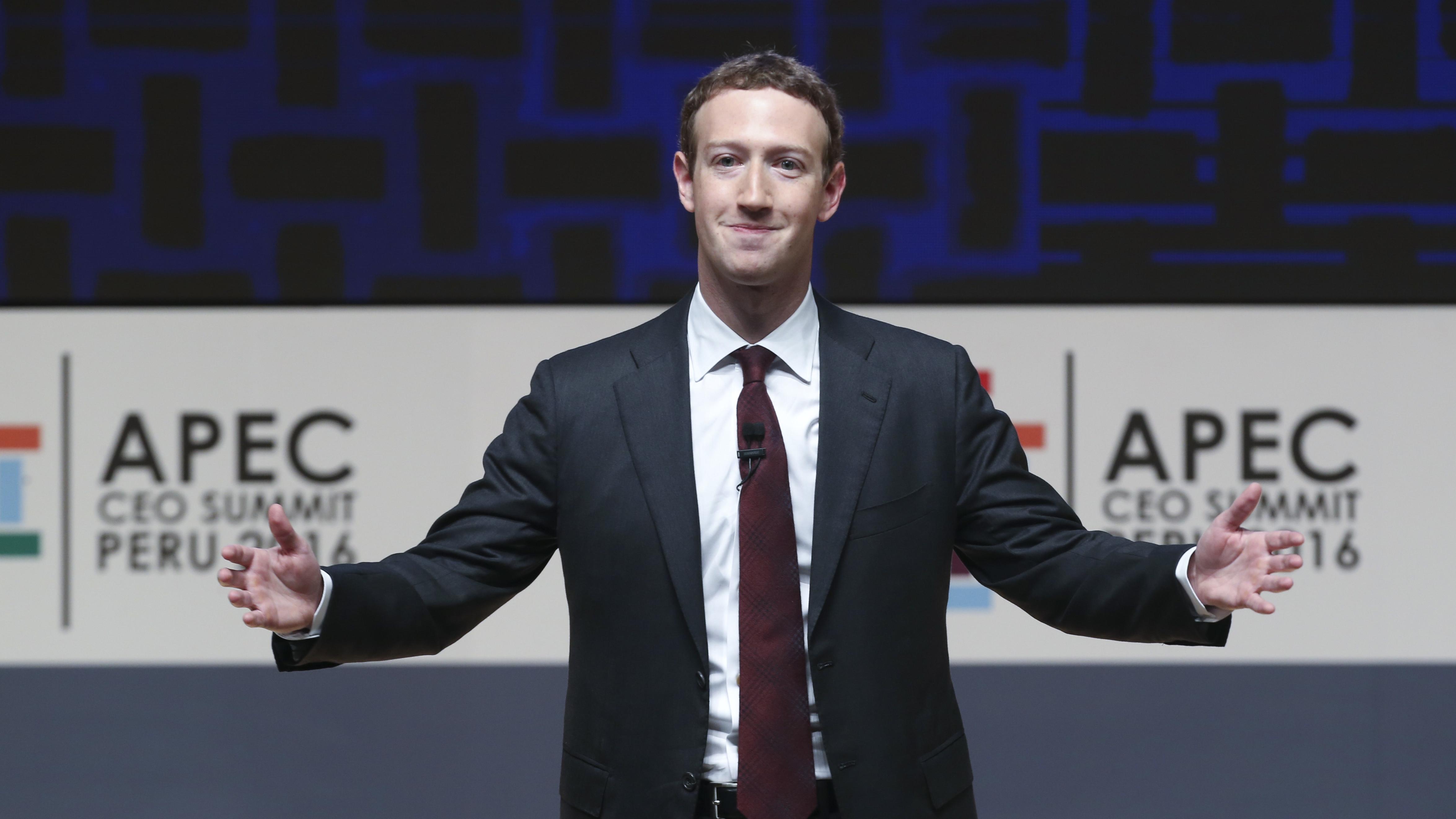 Mark Zuckerberg Facebook earnings
