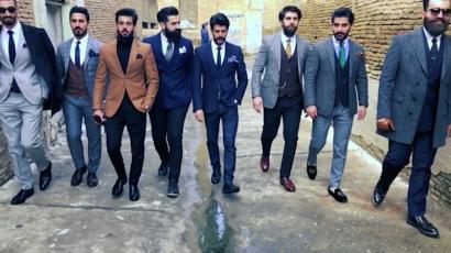 bcb622a78662 A group of young Iraqi men have created a men s fashion club in ...