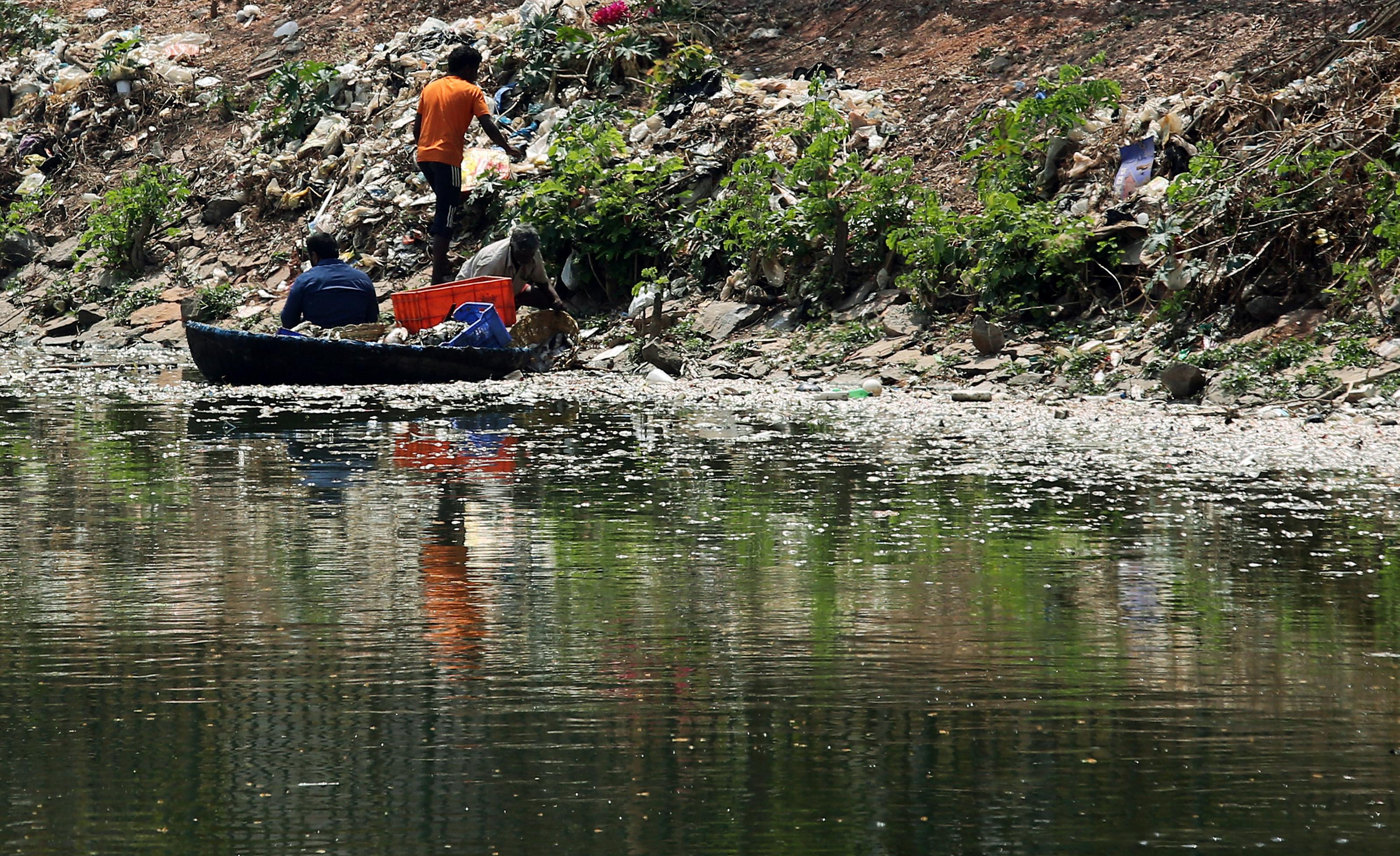 India-Bengaluru-lakes