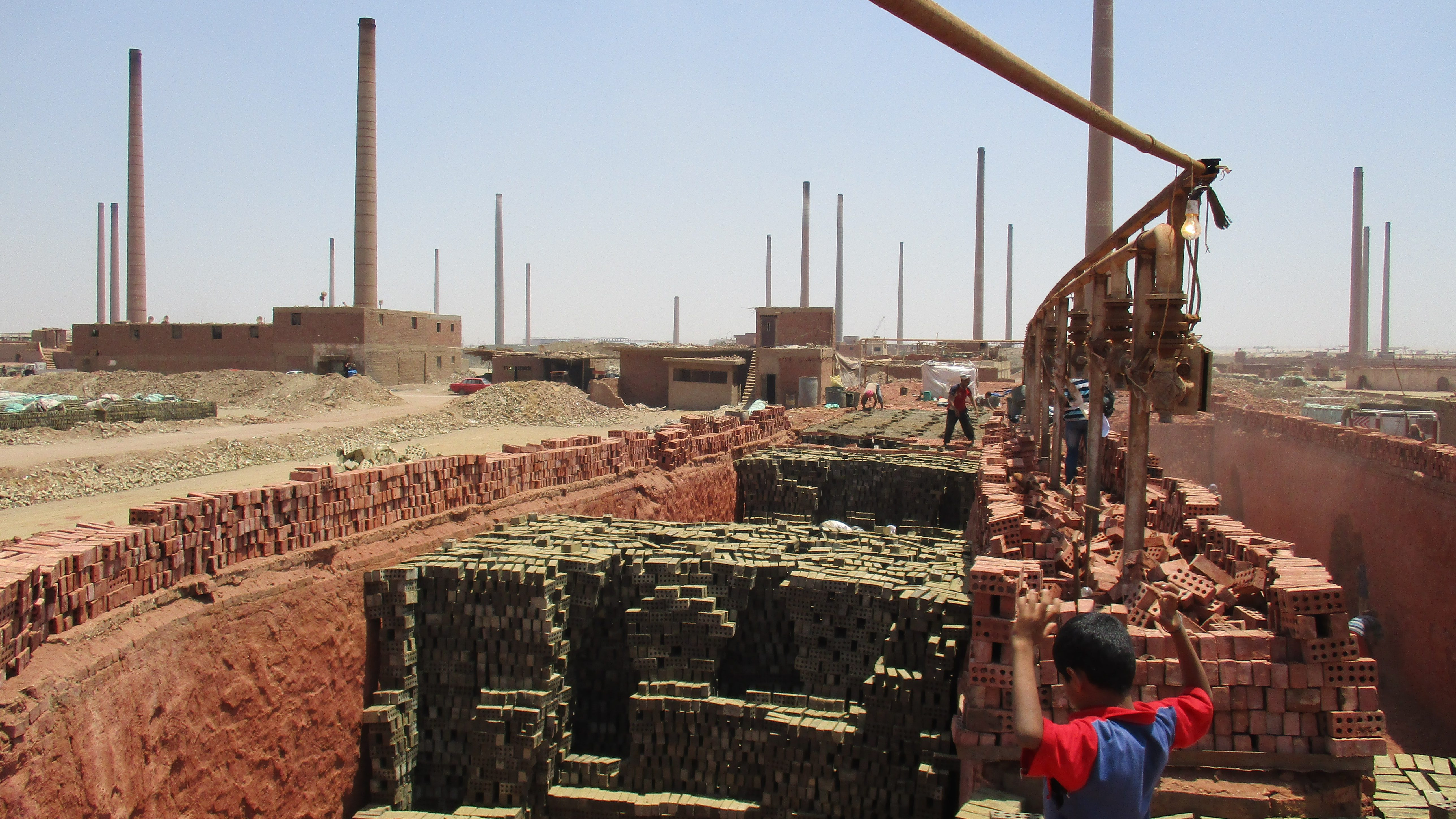 Construction boom in Egypt