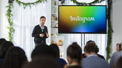 Instagram CEO Kevin Systrom.
