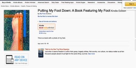 How to become a best-selling author on Amazon in five
