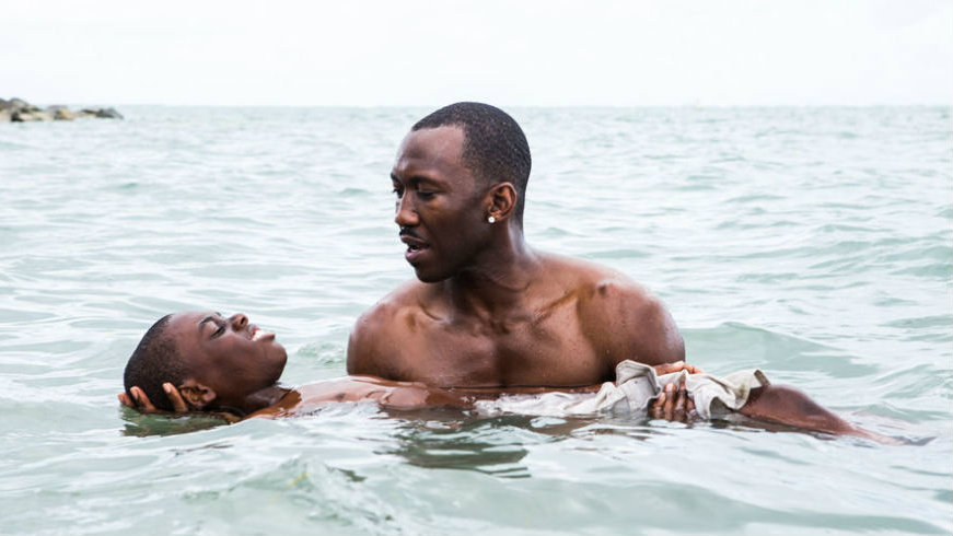 A scene from the movie Moonlight.