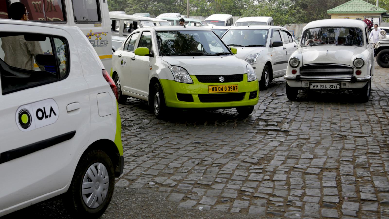 India-Ola-Uber-New Delhi-Taxi-App