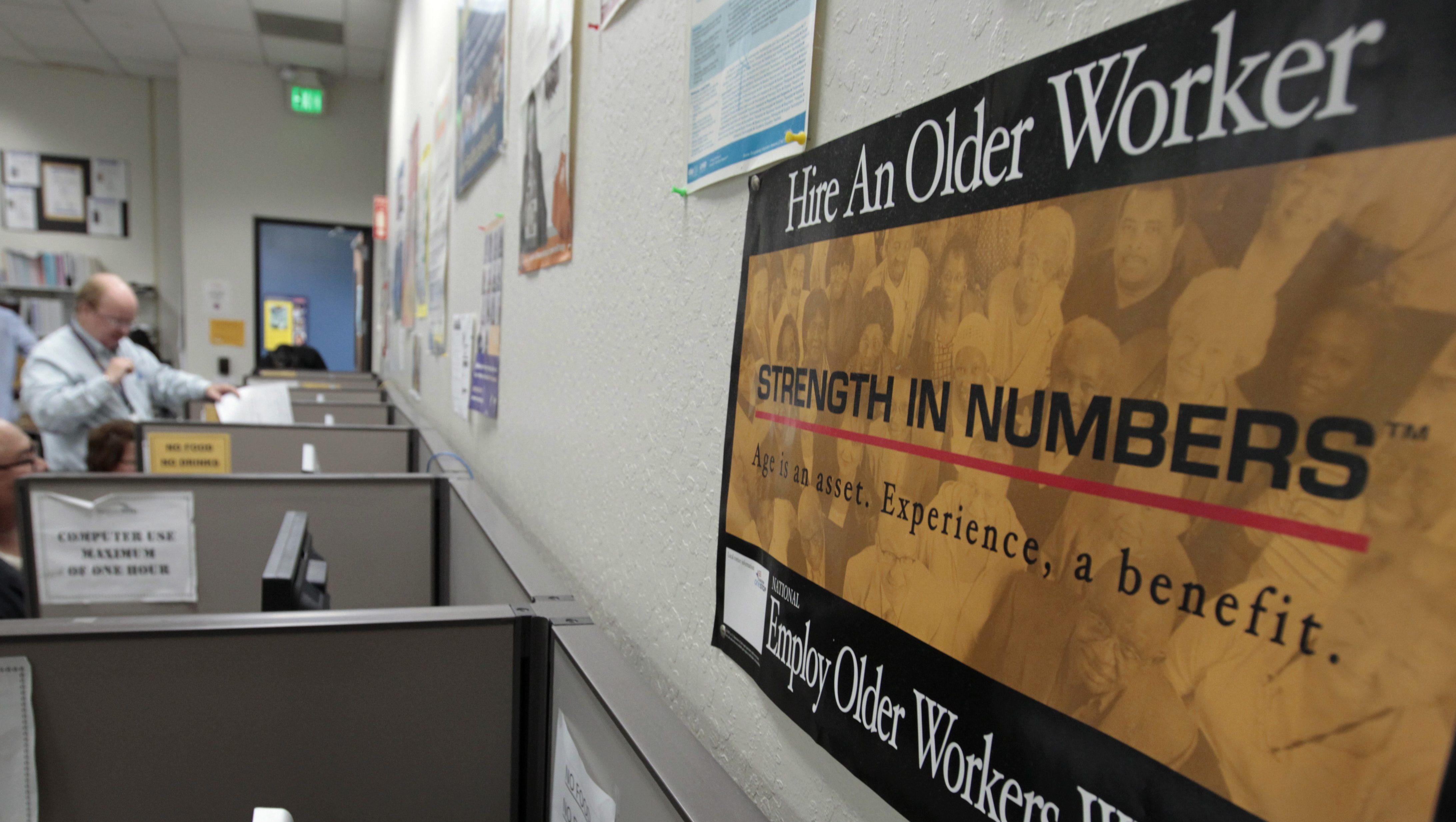 Older workers face age discrimination